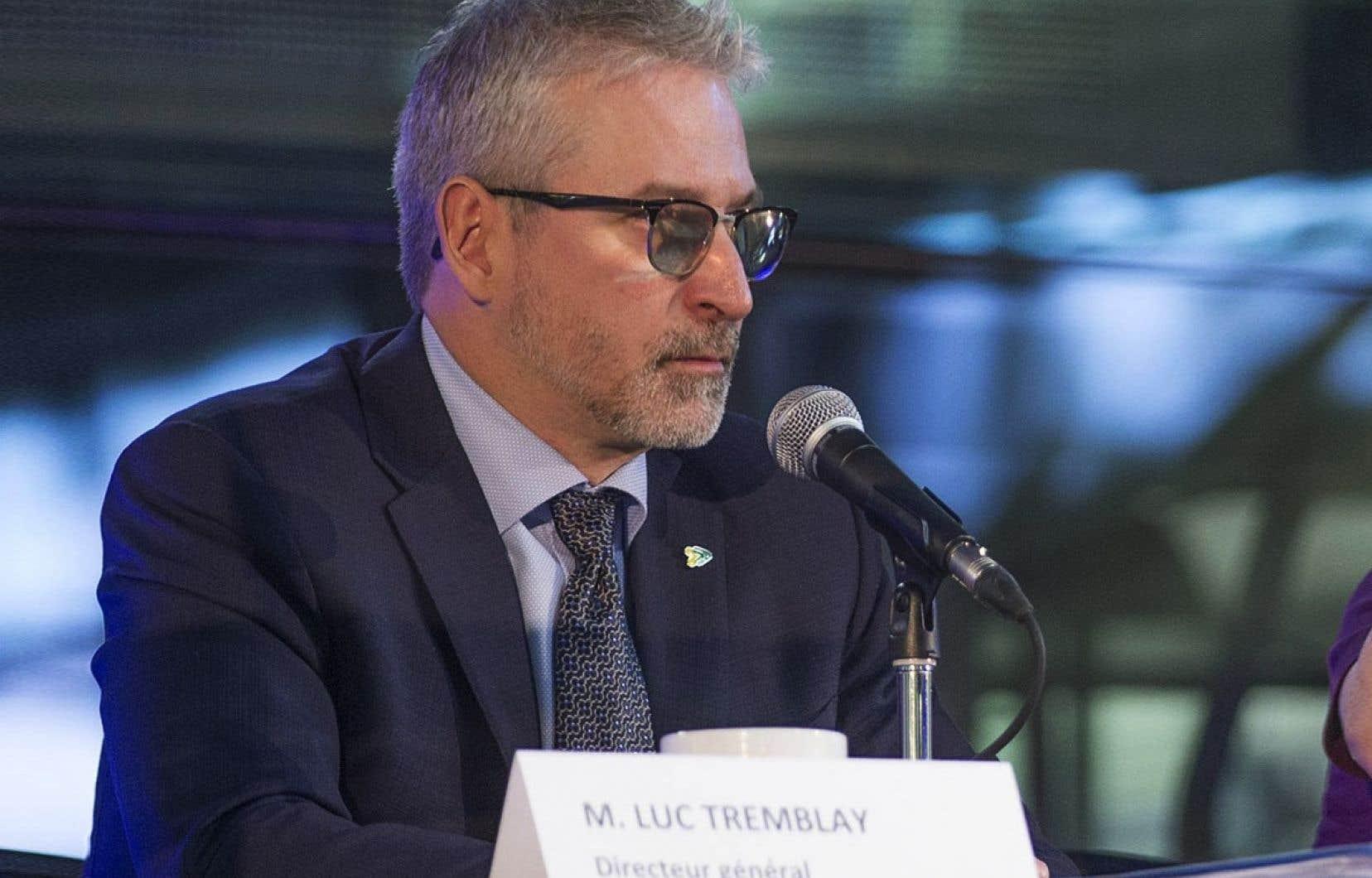 Le directeur général de la Société de transport de Montréal, Luc Tremblay