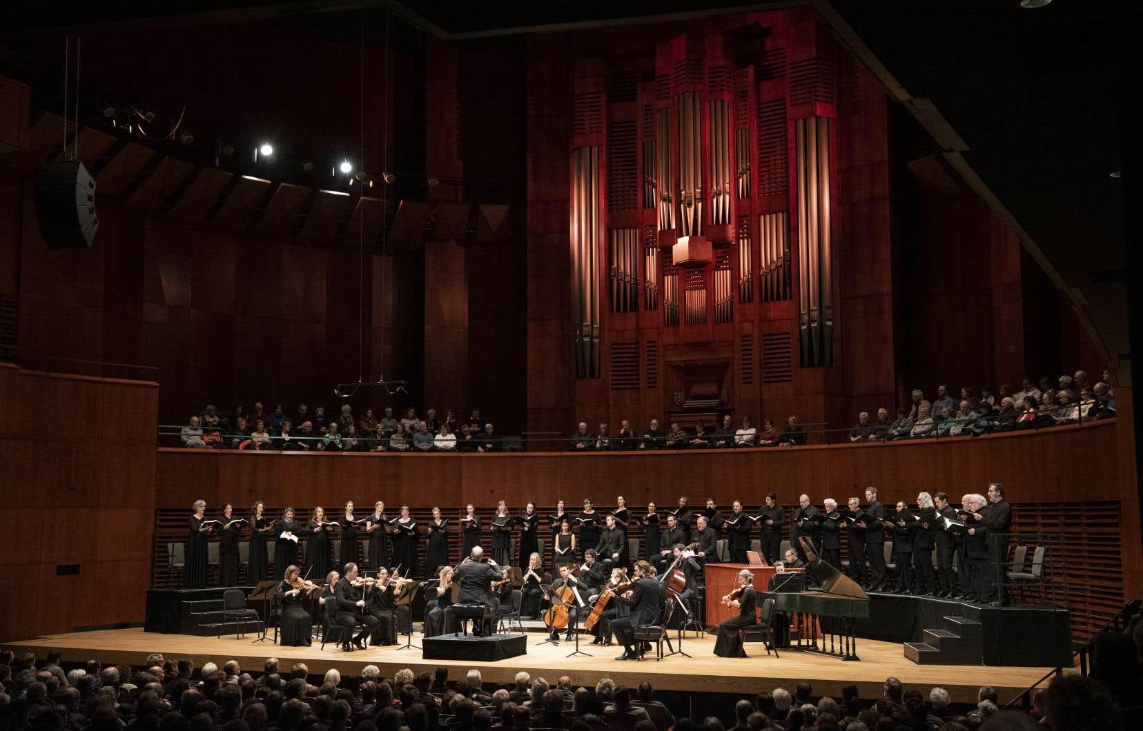 La préméditation interprétative et l'importance accordée à ce concert du «Messie» de Händel dépassaient de très loin les normes habituelles.