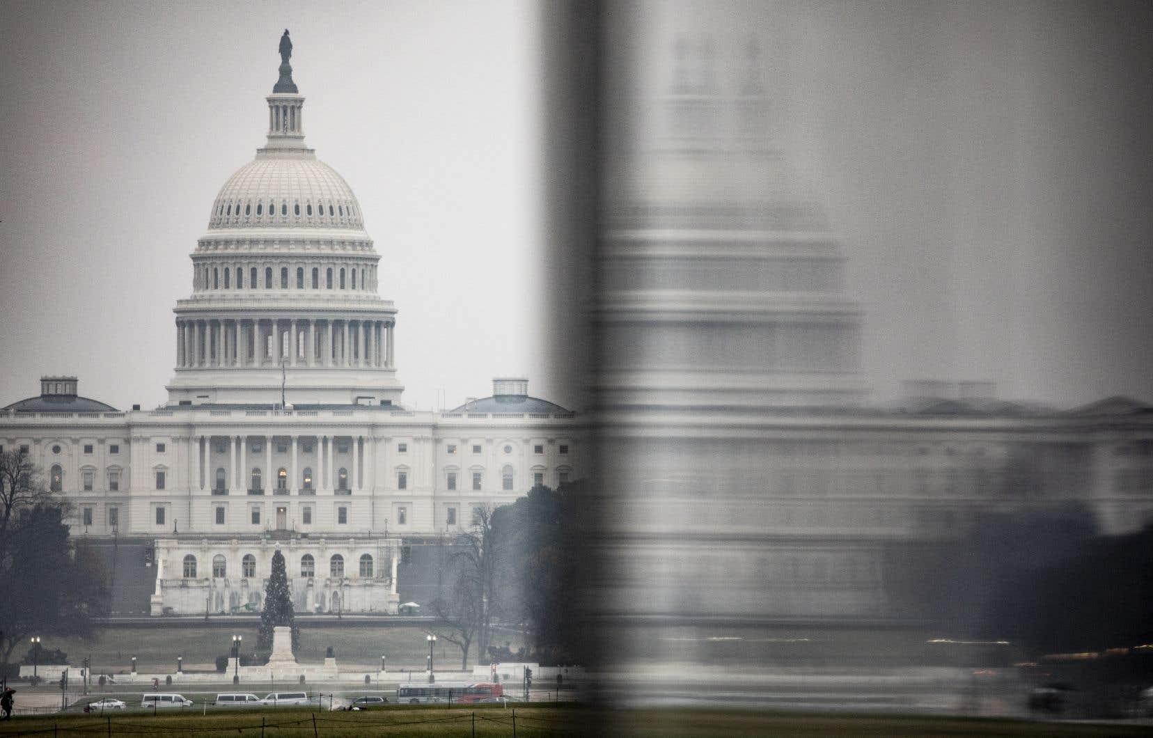 Vue sur le Capitole des États-Unis, à Washington
