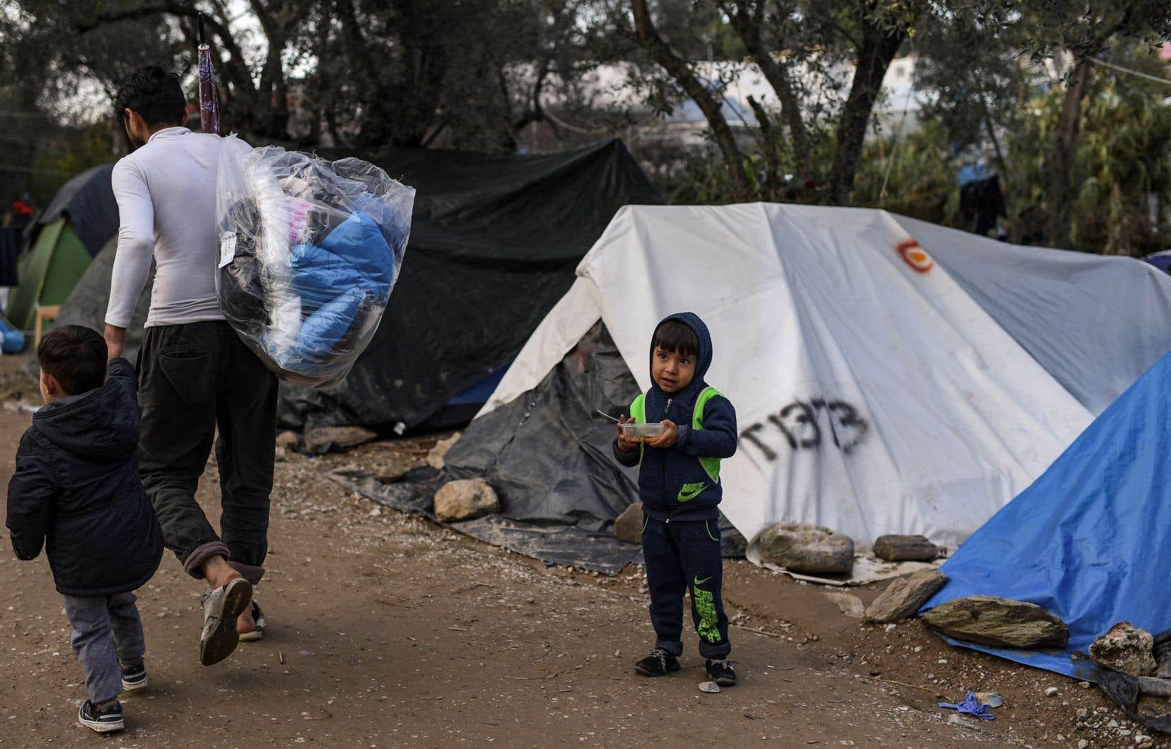 La Grèce est redevenue en 2019 la principale porte d'entrée en Europe des demandeurs d'asile.