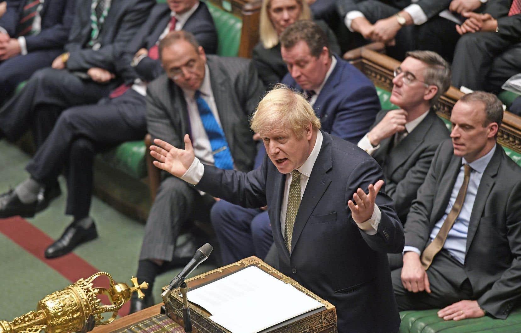 Boris Johnson présentera dès vendredi aux députés la loi d'application de l'accord de divorce négocié avec Bruxelles.