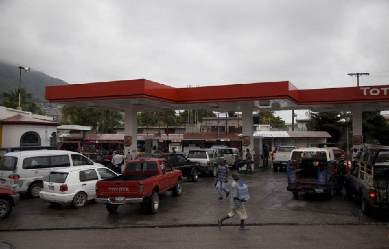 Les Haïtiens se préparaient hier à accueillir la tempête tropicale Tomas.<br />