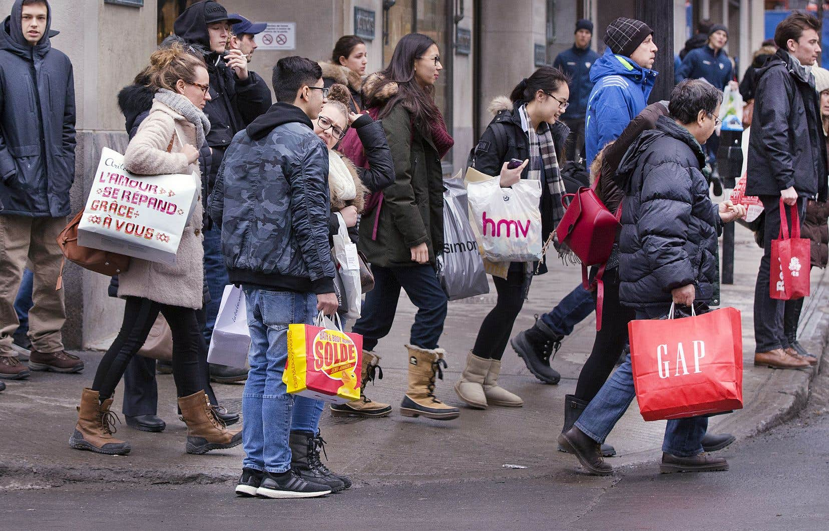 Les dépenses de consommation des ménages québécois ont augmenté de 1,9% au troisième trimestre de 2019.
