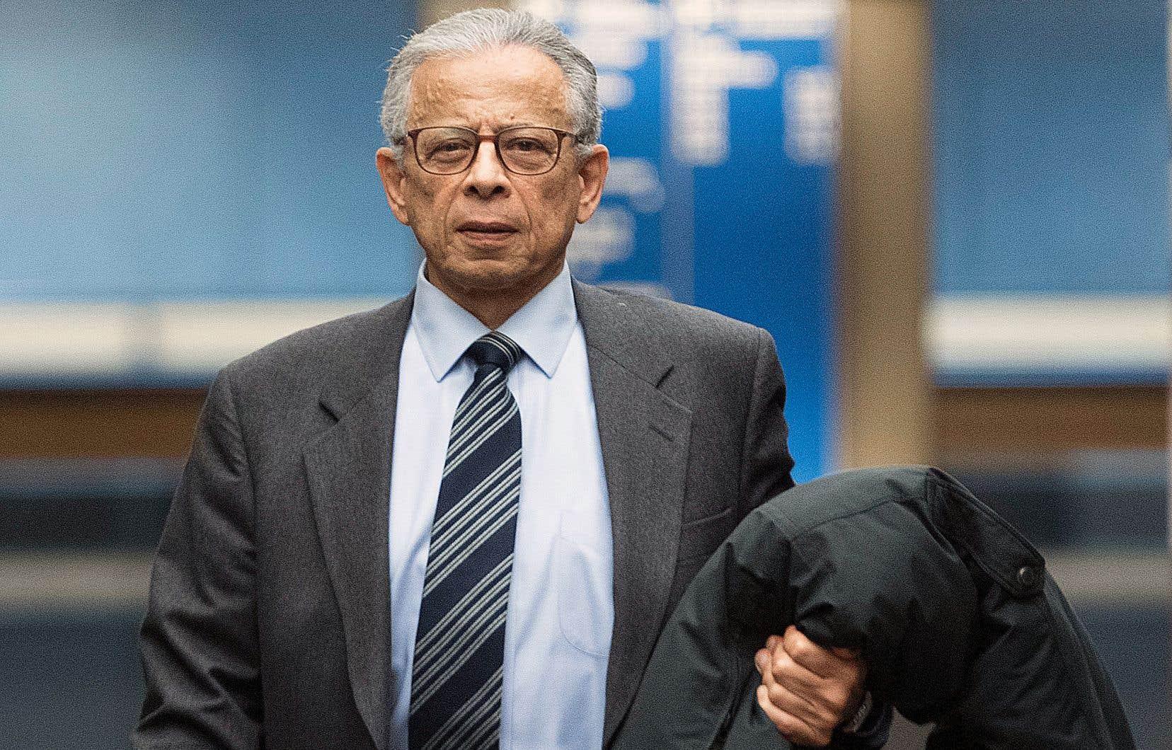 Sami Bebawi, photographié jeudi au Palais de justice de Montréal. Le juge fera connaître en janvier la peine qu'il imposera à l'ancien cadre supérieur de SNC-Lavalin.