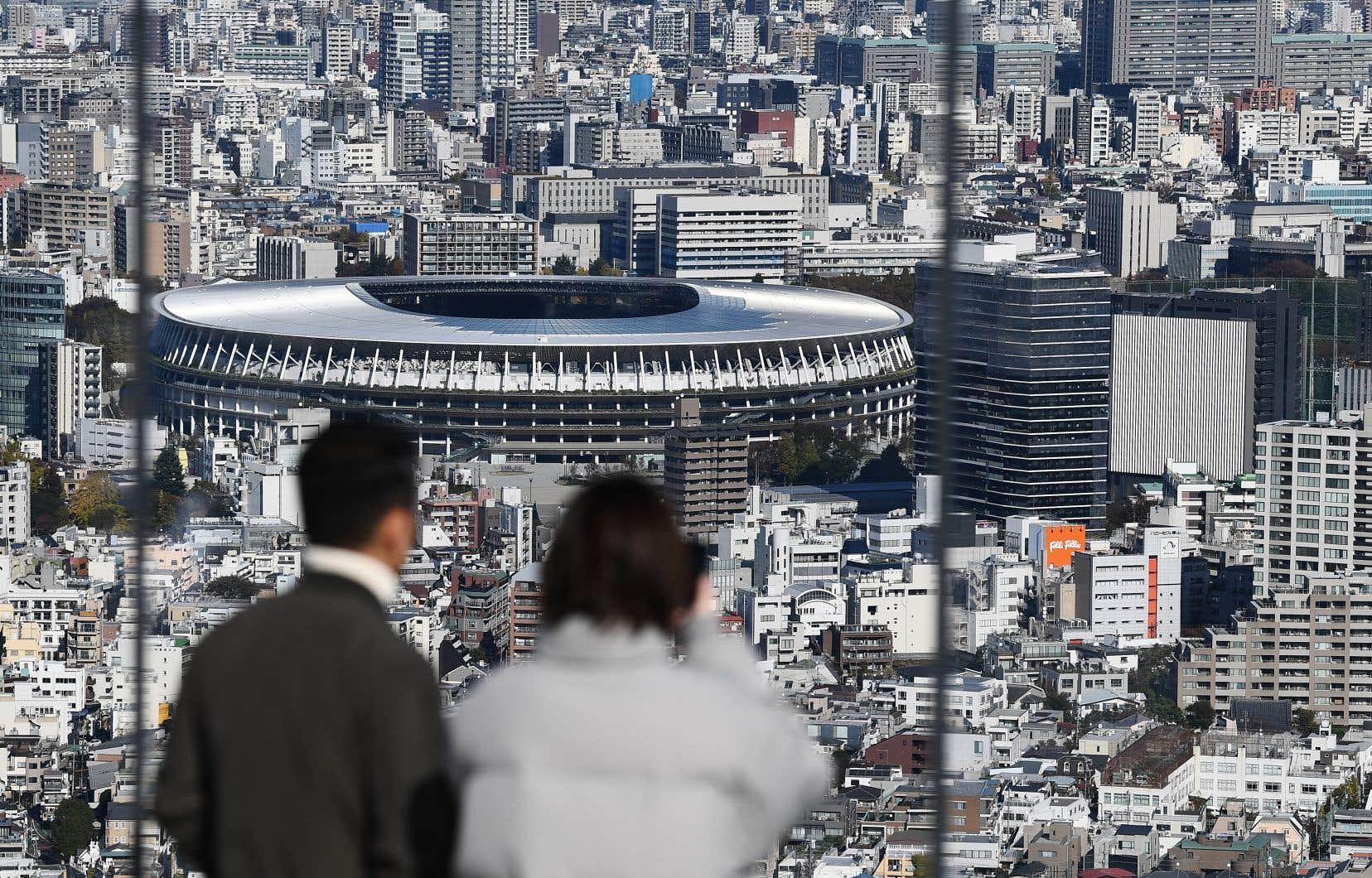 La stade olympique de Tokyo a été achevé le 30 novembre dernier, au coût de 1,4 milliards $US.