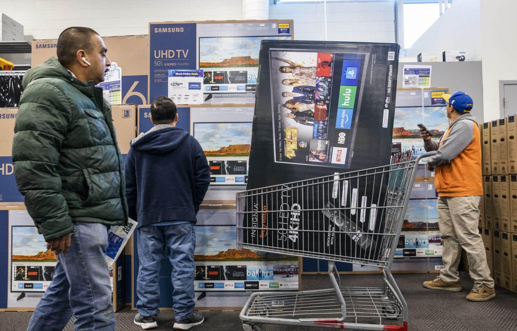 La consommation, locomotive traditionnelle de la croissance du PIB américain, a avancé bien vite que prévu.