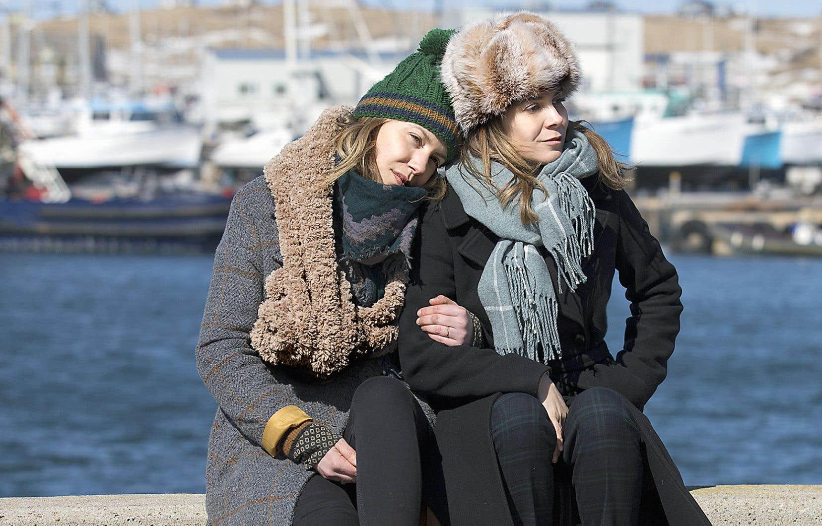 Le film mettant en vedette Magalie Lépine-Blondeau et Julie Perreault opère un très chouette revirement de la formule habituelle du «buddy movie».