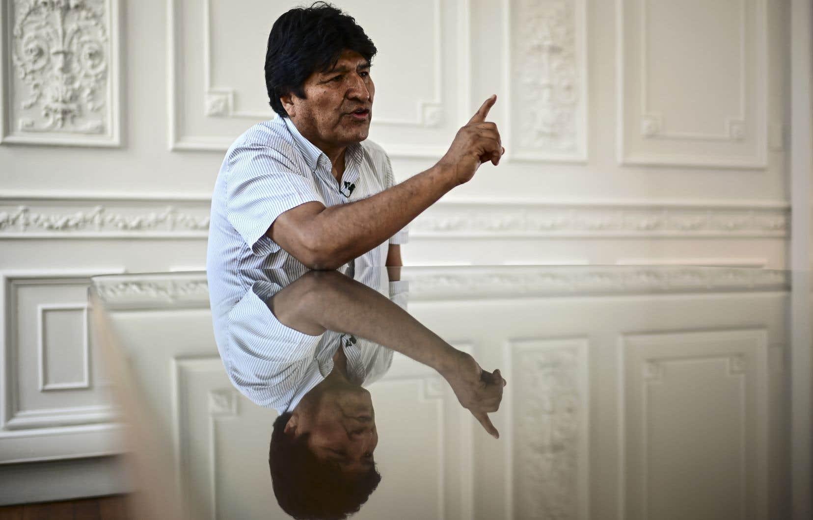 Premier président indigène de Bolivie, M.Morales a démissionné le 10 novembre après avoir été lâché par l'armée et sous la pression de manifestations de l'opposition.