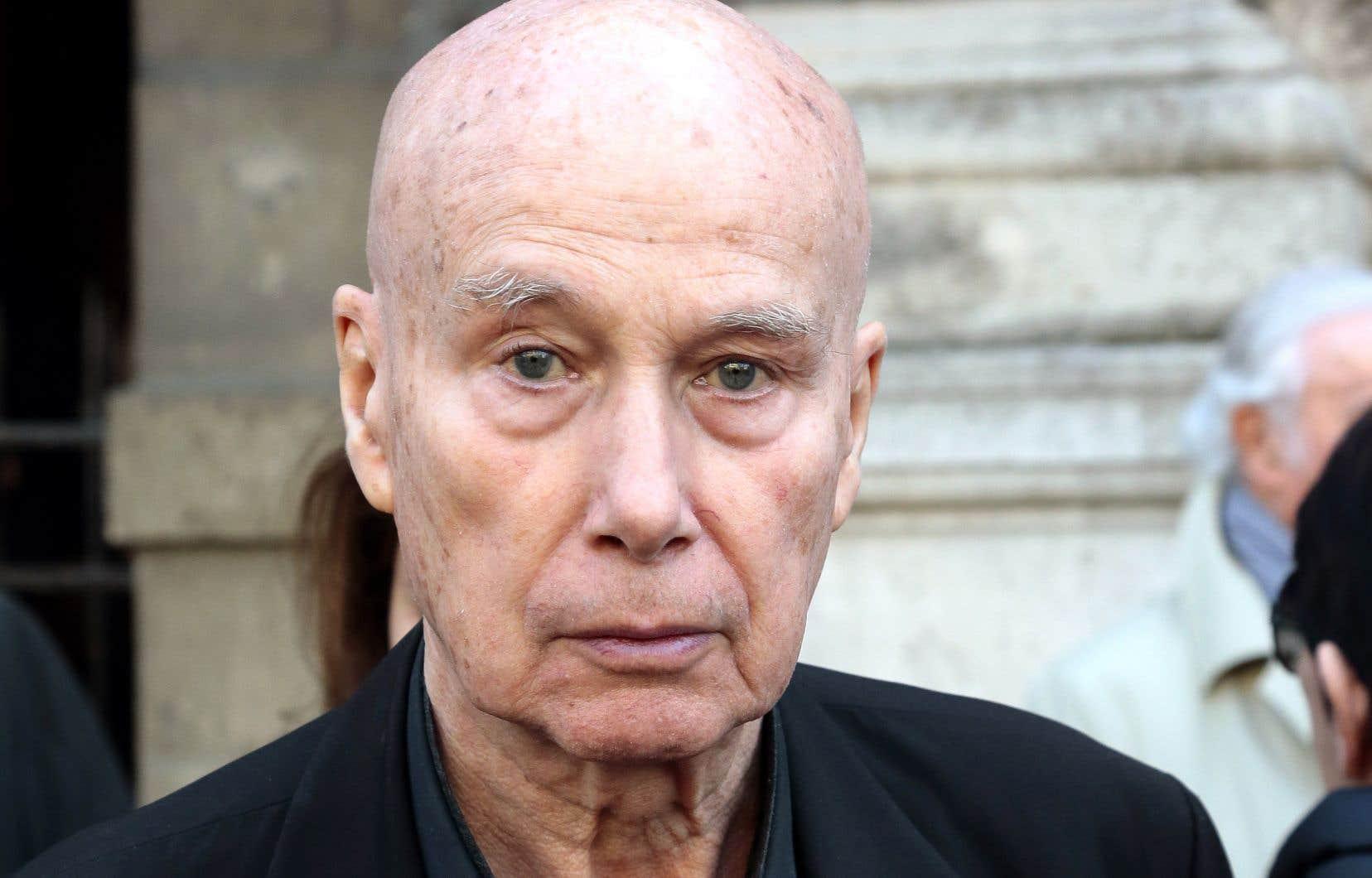 L'écrivain Gabriel Matzneff, en 2014