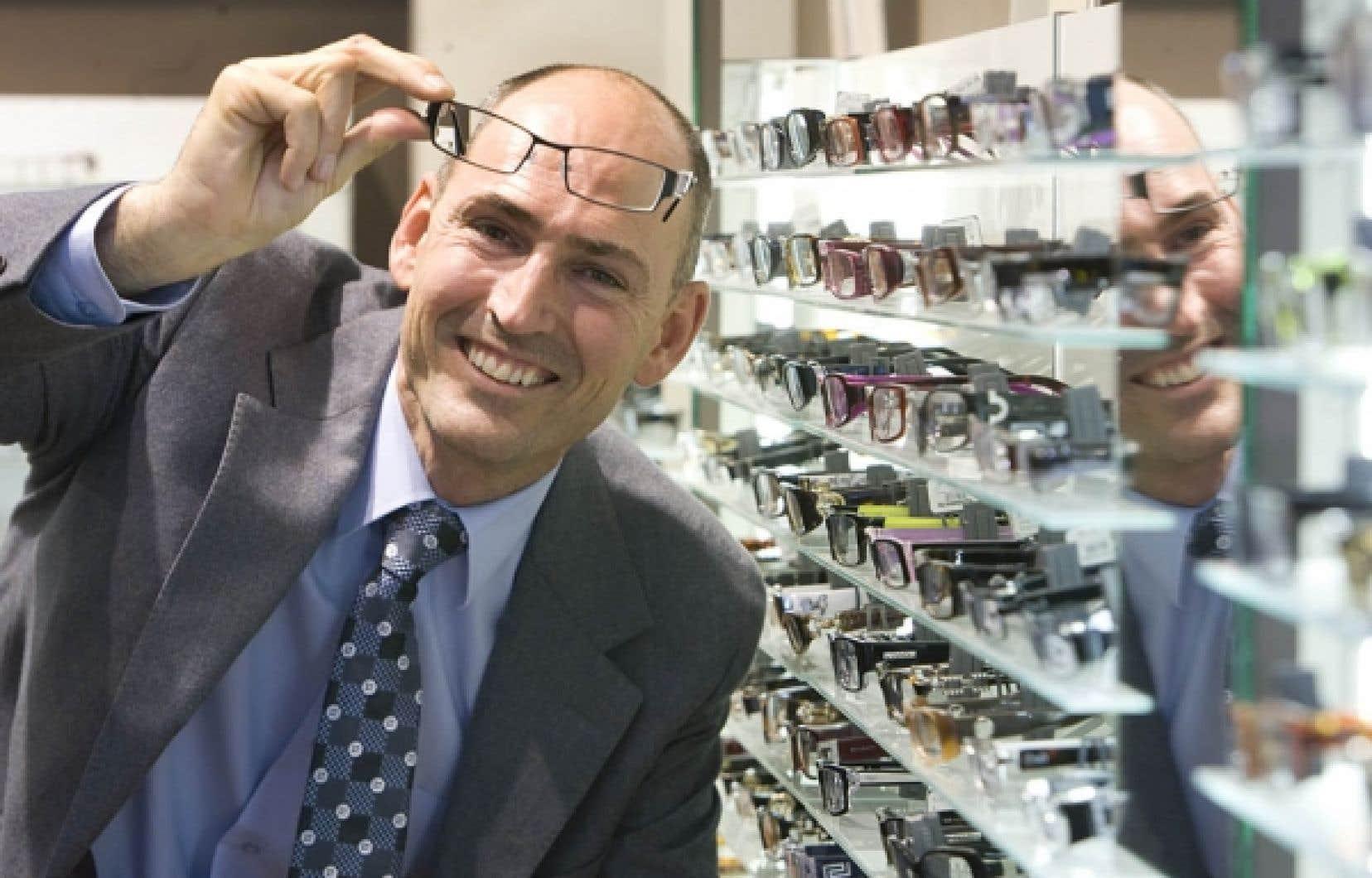 Martial Gagn&eacute;, pr&eacute;sident de New Look depuis 2008, est associ&eacute; &agrave; l&rsquo;entreprise depuis 2001. <br />