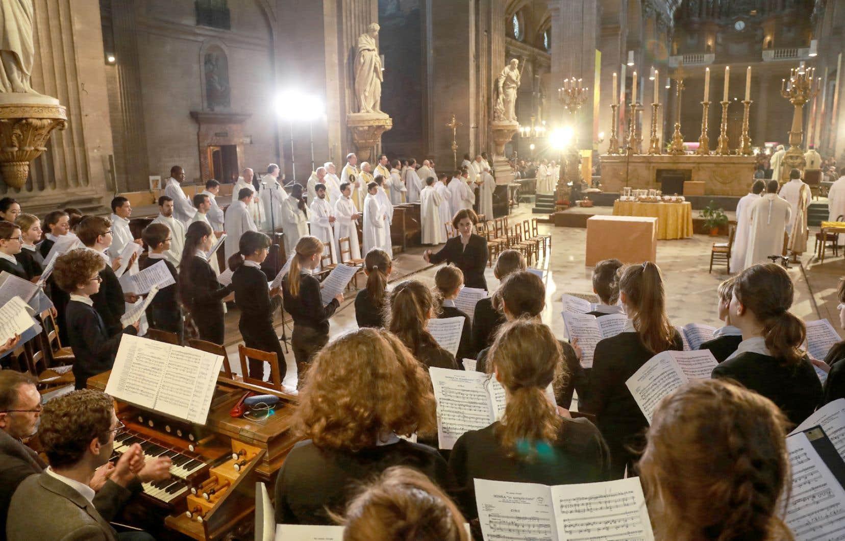 Le Jeune ensemble de la Maîtrise Notre-Dame de Paris en concert