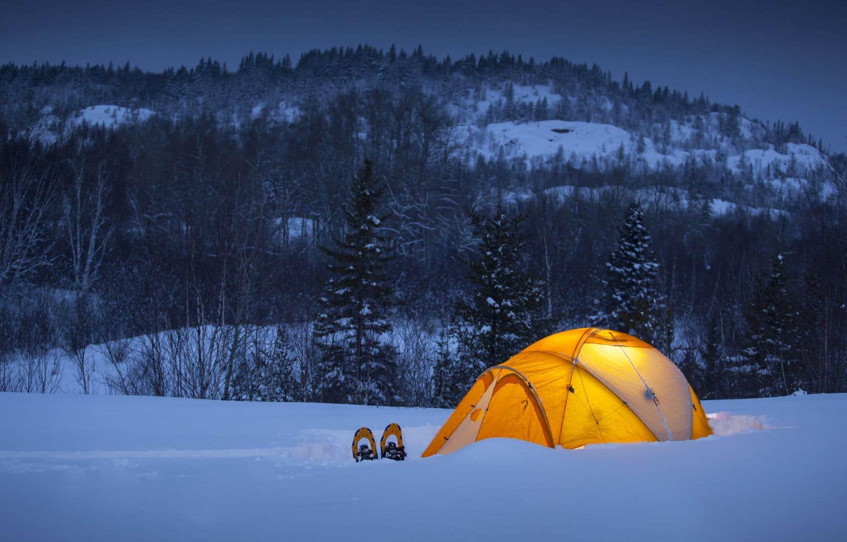 L'hiver, au Québec, c'est loin de la ville qu'on le vit le mieux.