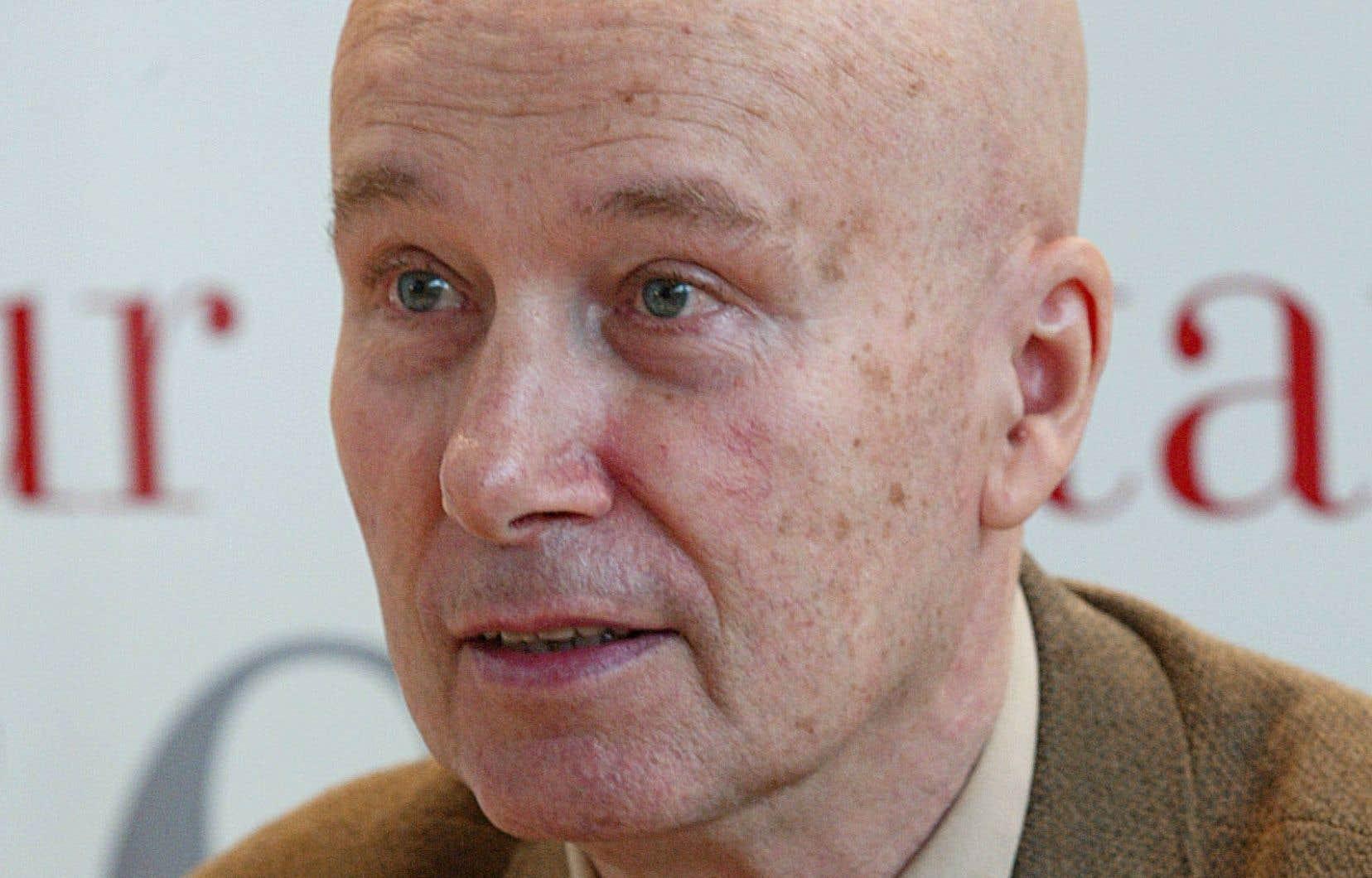 L'auteur français Gabriel Matzneff en 2002