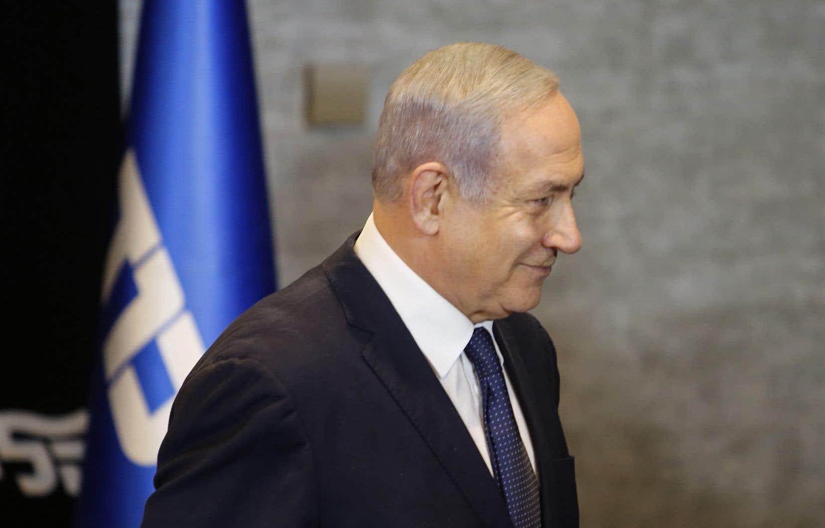 Le premier ministre d'Israël, Benjamin Nétanyahou