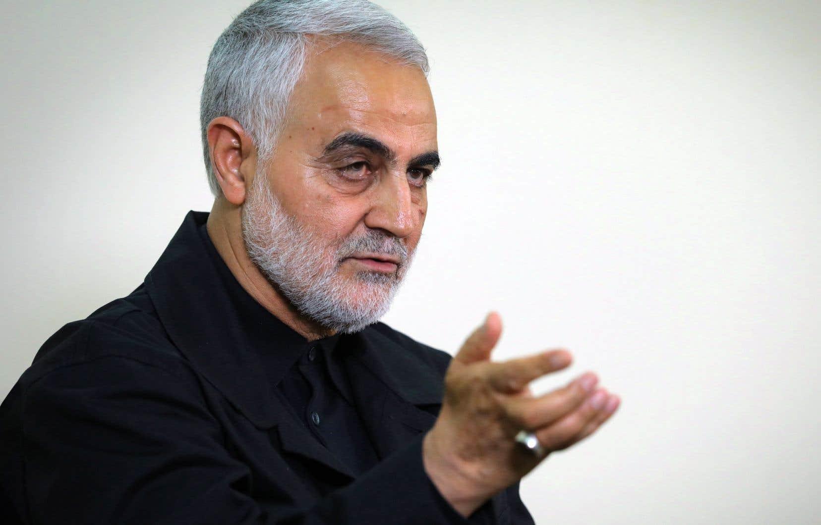 Le général iranien Qassem Soleimani.