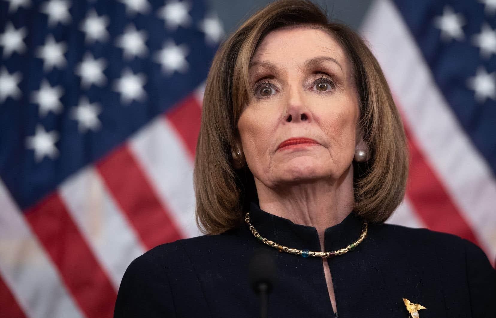 La frappe a été menée «sans consulter le Congrès», a dénoncé s'est la présidente démocrate de la Chambre des représentants, Nancy Pelosi.