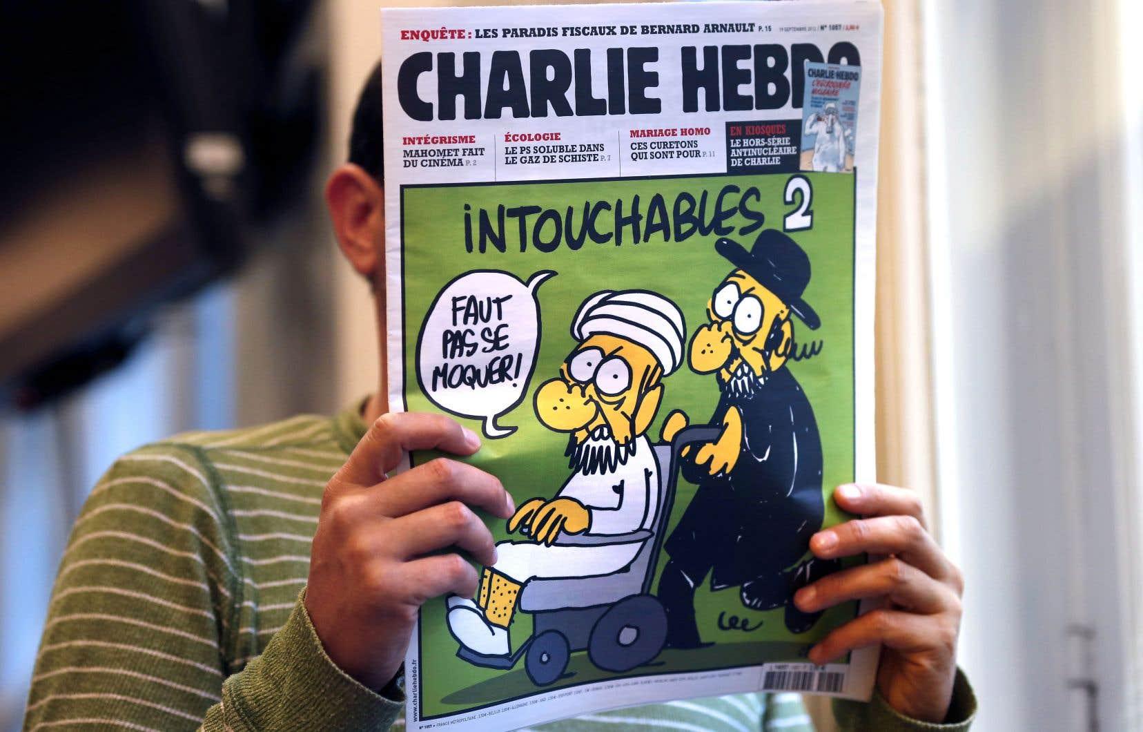 La publication de caricatures de Mahomet dans l'hebdomadaire satirique français Charlie Hebdo a été payée au prix fort il y a 5ans avec une attaque qui a fait 12 morts.