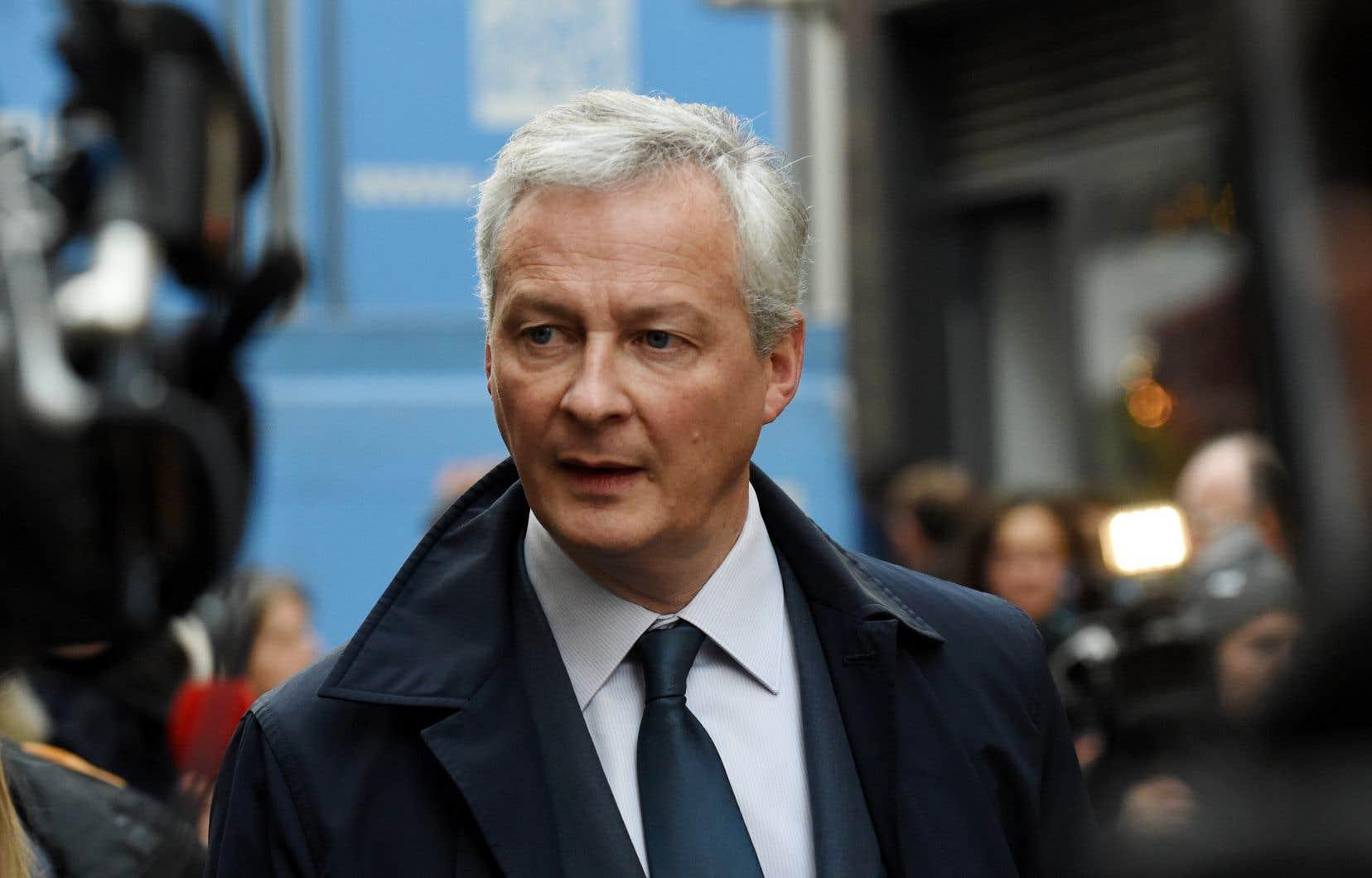 «Cette guerre commerciale n'est dans l'intérêt de personne», a affirmé le ministre français des Finances Bruno Le Maire sur la radio publique France Inter.