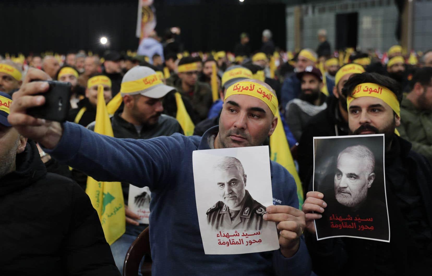 Les brigades du Hezbollah, branche la plus radicale du Hachd, ont promis «le début de la fin de la présence américaine dans toute la région».