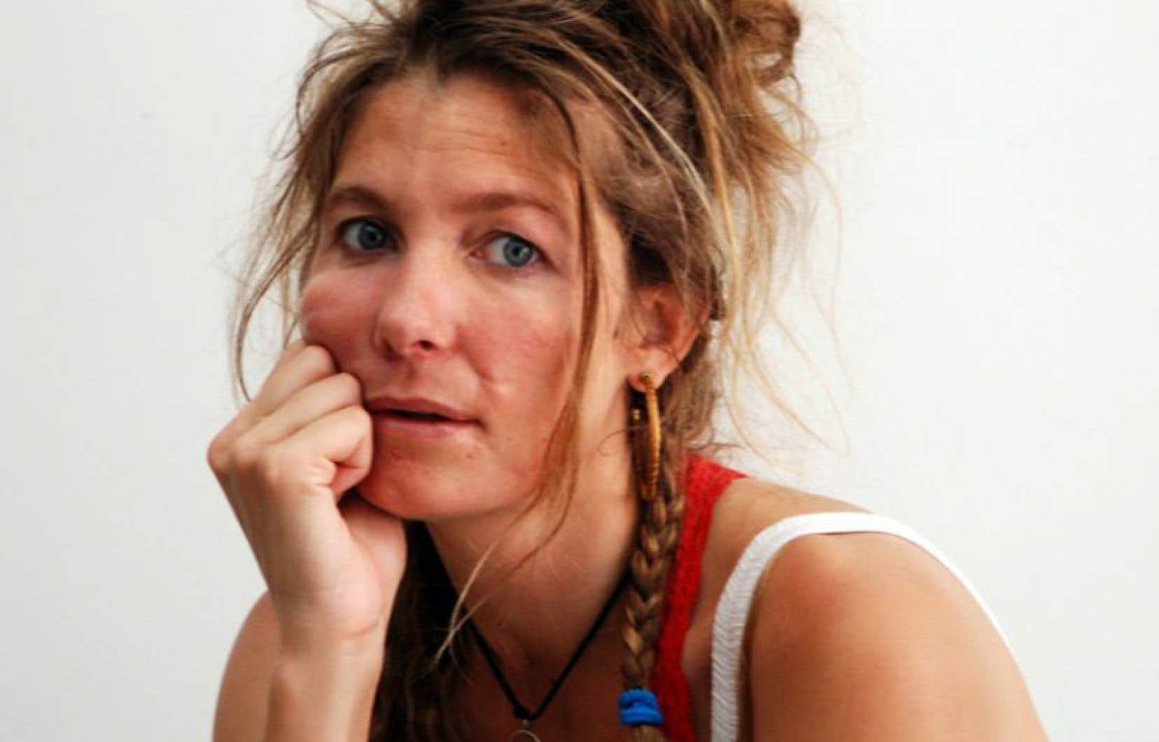 L'anthropologue française Nastassja Martin, spécialiste des peuples autochtones du Grand Nord et passionnée par la pensée animiste