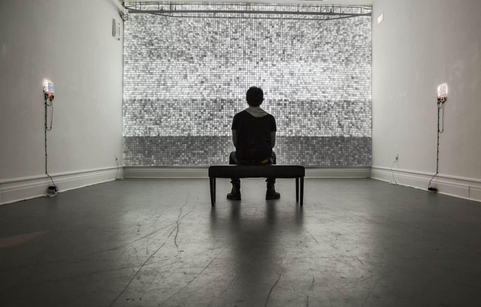 Paolo Almario, «mon/ton», 2014, Galerie Sans Nom, Moncton