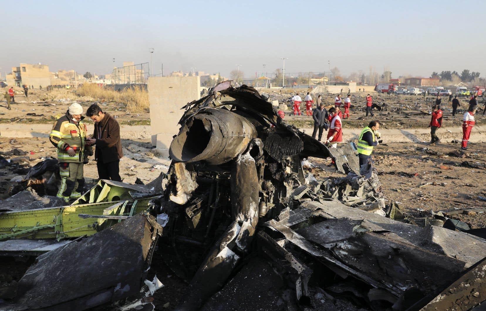 L'écrasement mercredi a coûté la vie à 176 personnes, dont 57 canadiens selon le dernier bilan du ministre des Affaires étrangères, François-Philippe Champagne.