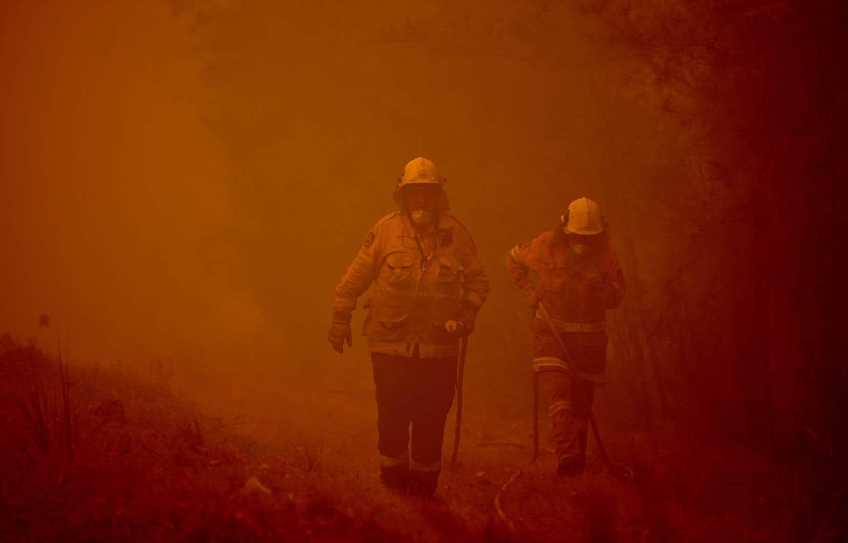 Le premier ministre, Scott Morrison, a déclaré qu'il était «nécessaire» de lancer une commission d'enquête sur les incendies.