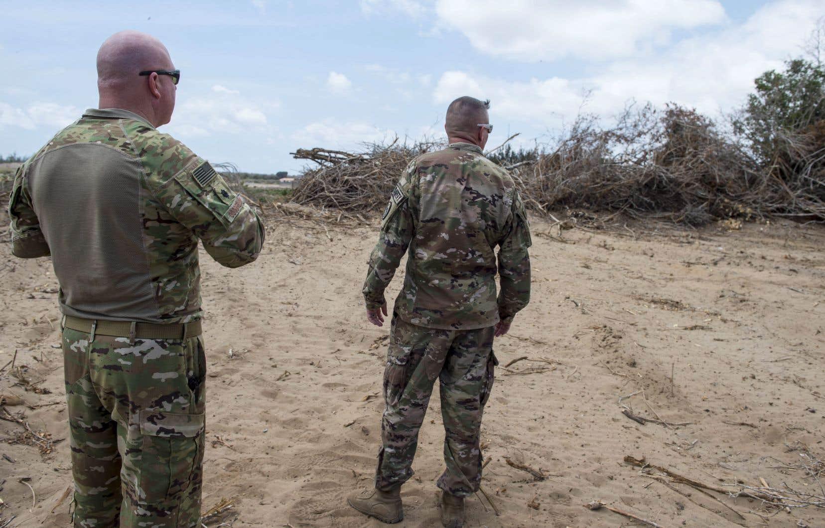 Les États-Unis veulent réduire le nombre de leurs militaires déployés à travers l'Afrique au cours des prochaines années.