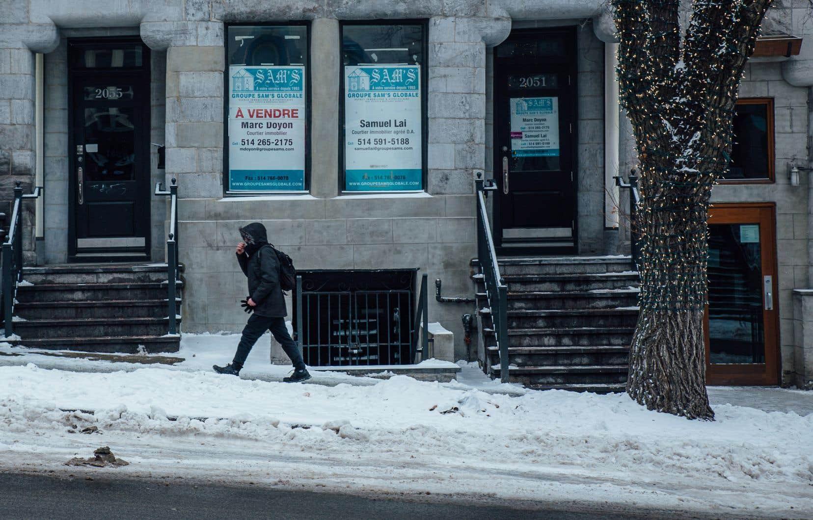 Montréal a entrepris de se pencher sur la question des locaux vacants qui défigurent les artères commerciales.