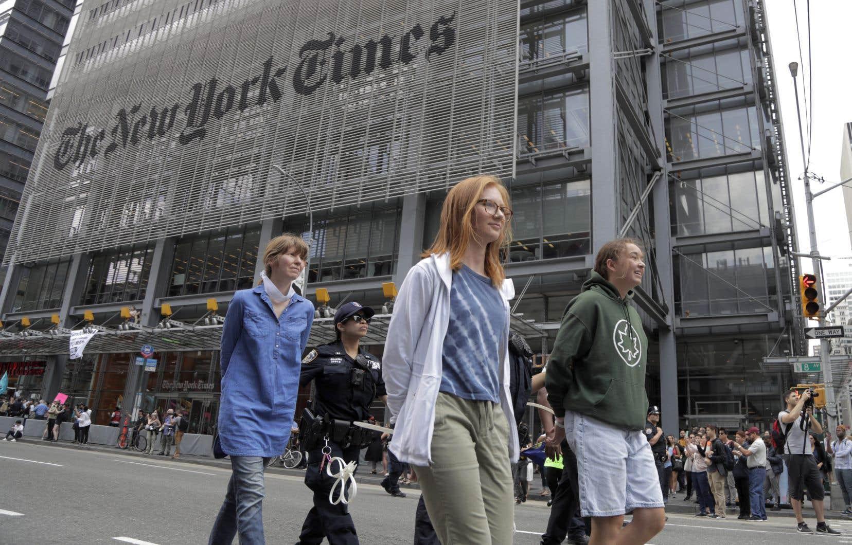 Le «New York Times» a annoncé mardi avoir atteint, avec un an d'avance sur son plan de marche, l'objectif des 800millions de dollars de chiffre d'affaires tirés du numérique.