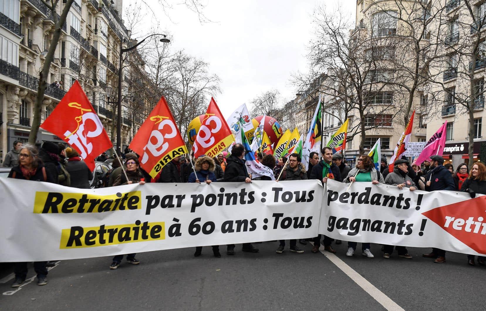 Mardi, une manifestation a attiré quelques milliers de personnes seulement.