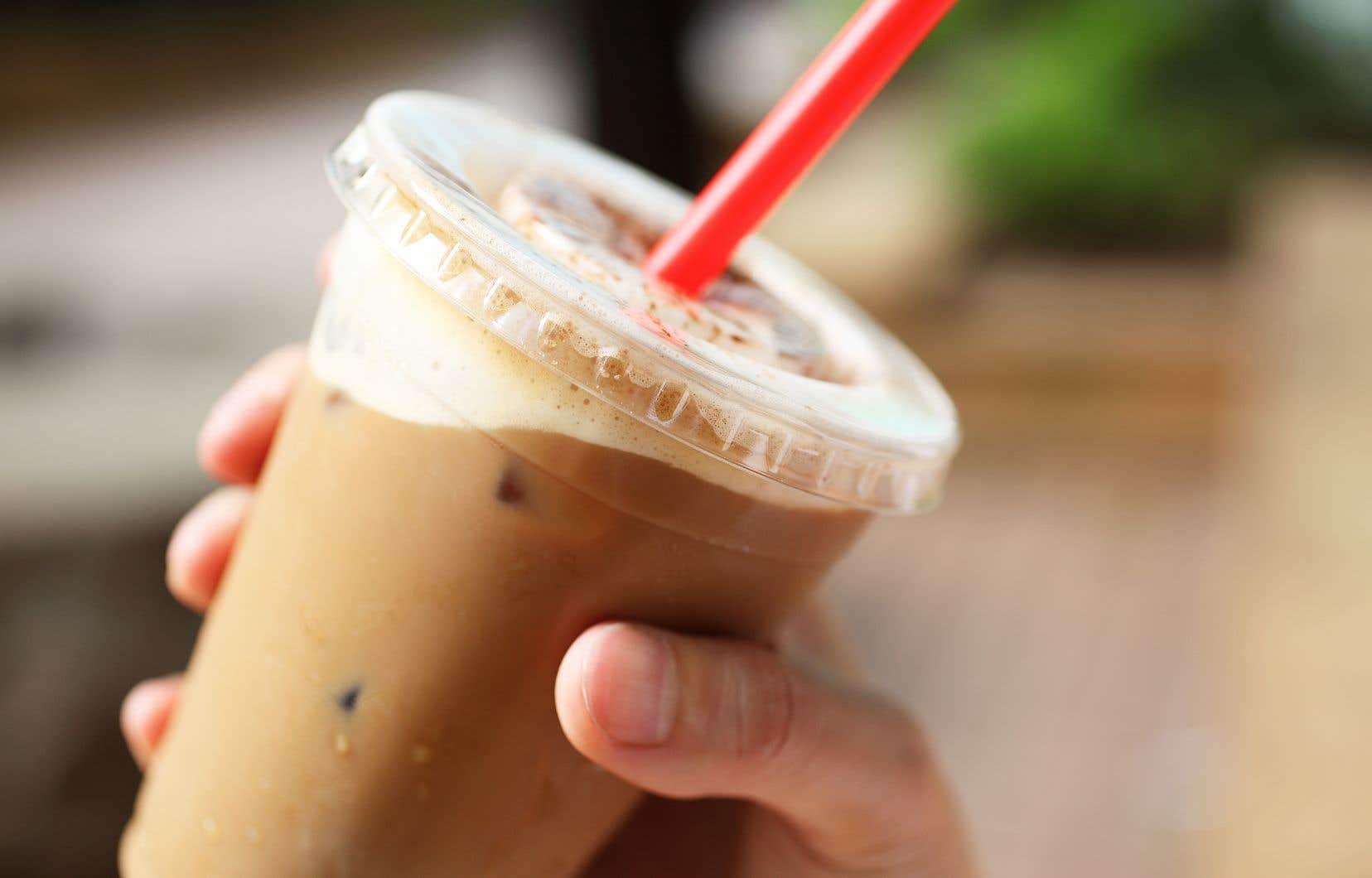 La catégorie des thés et cafés sucrés a connu une forte augmentation, de 165%.