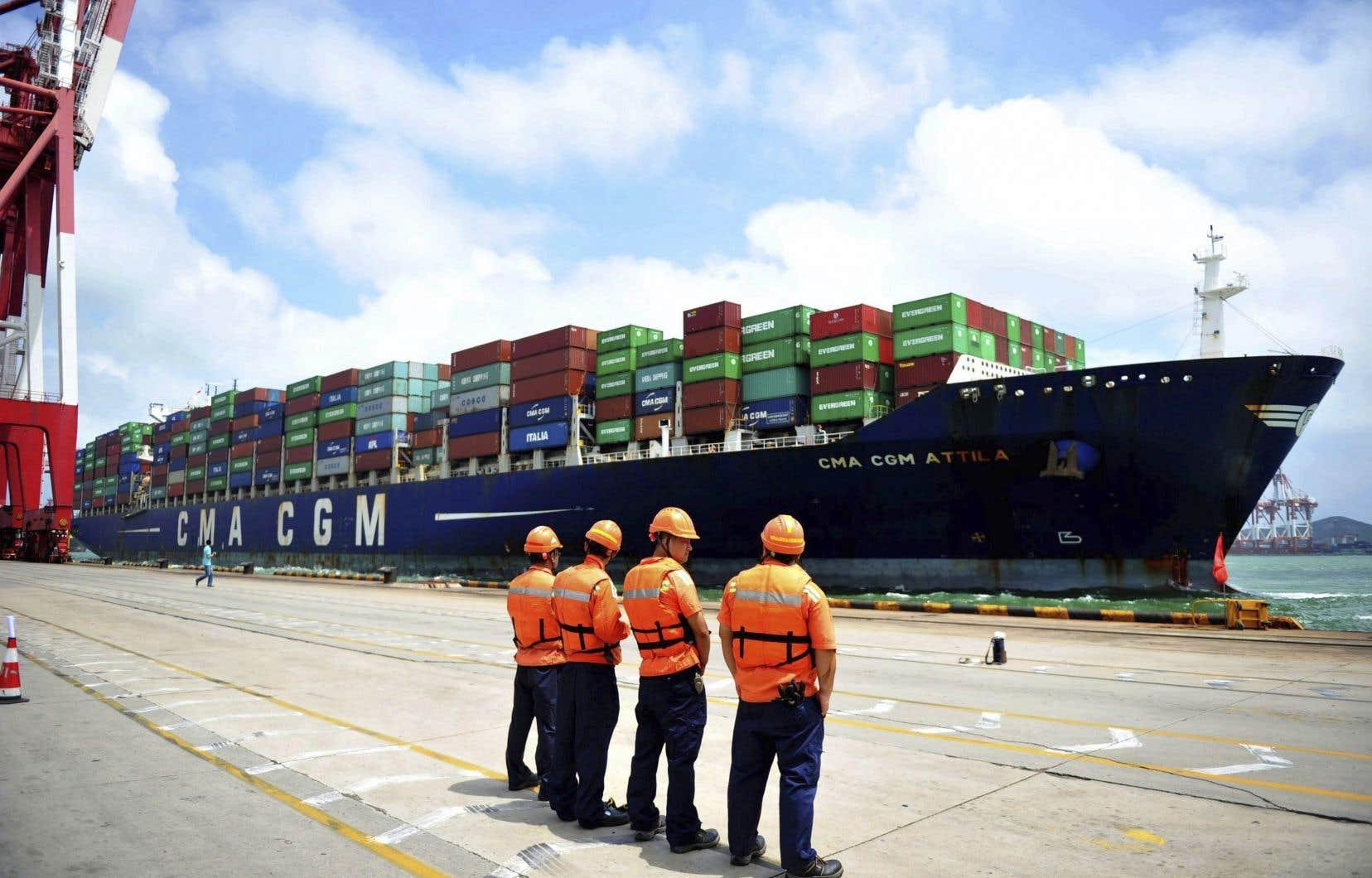 Sur l'ensemble de 2019, les importations totales de la Chine ont reculé (–2,8% sur un an).