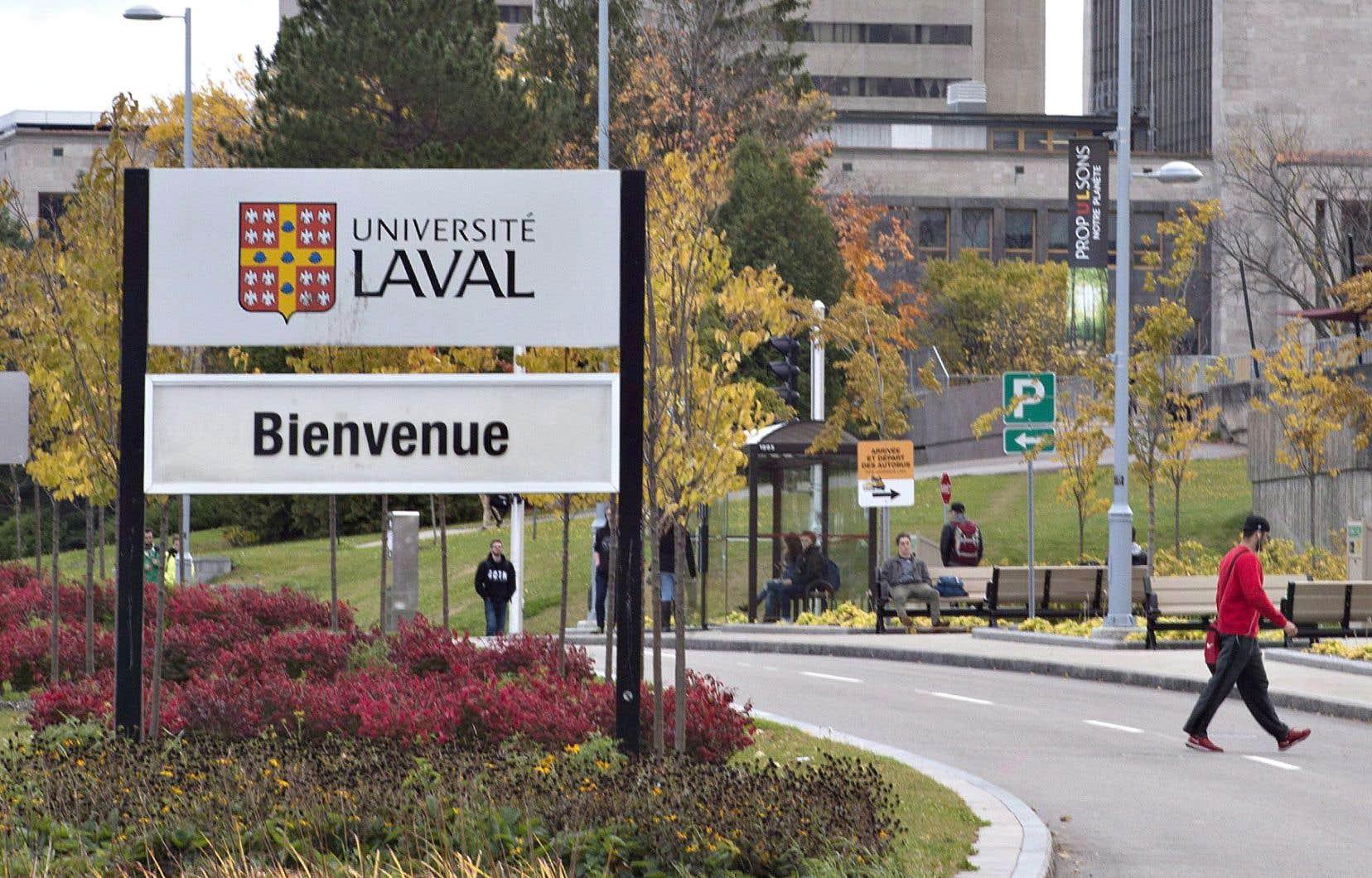 L'Université Laval, à Québec