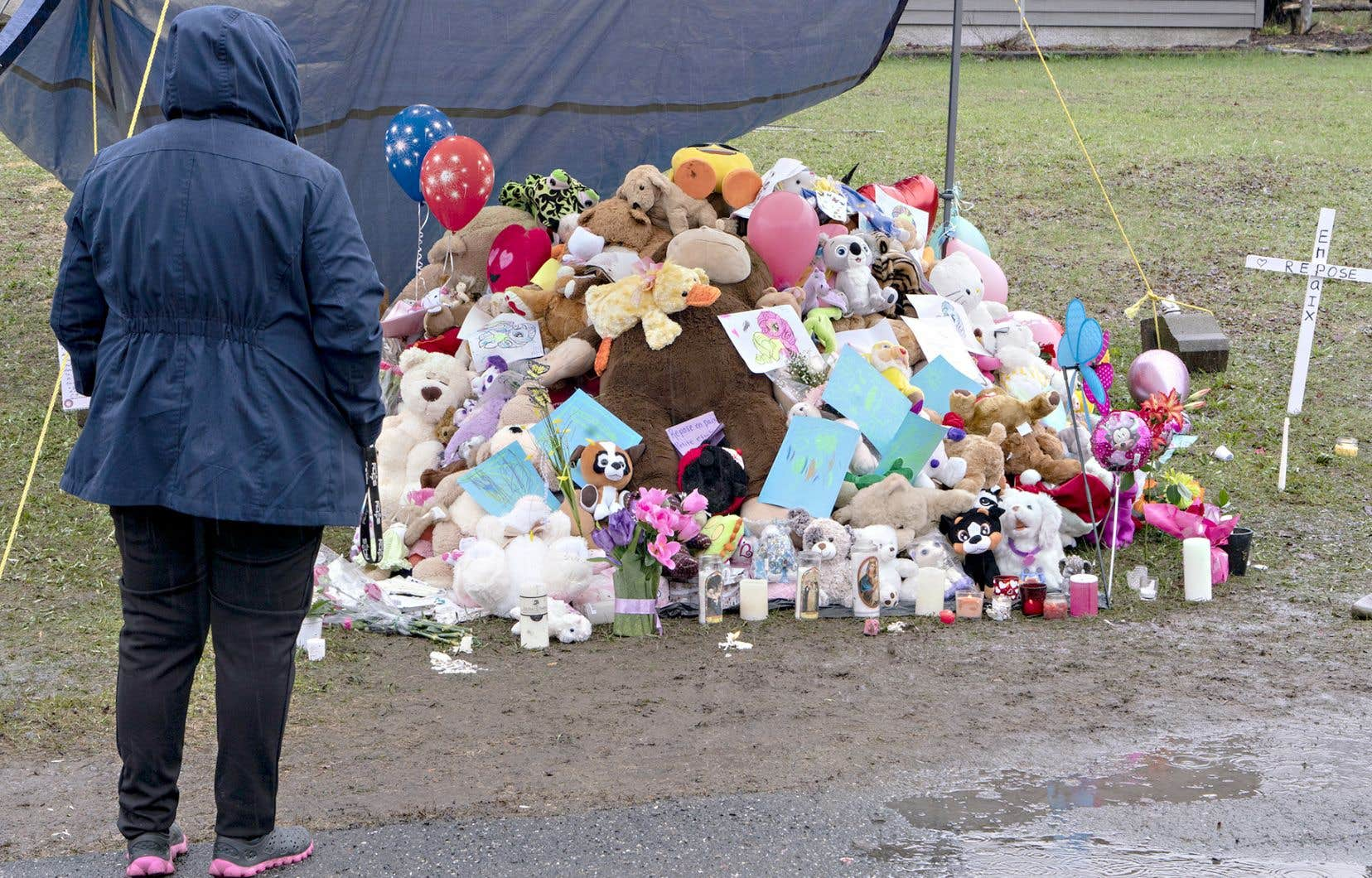 La mort violente d'une fillette à Granby, le 30avril 2019, avait ébranlé le Québec.