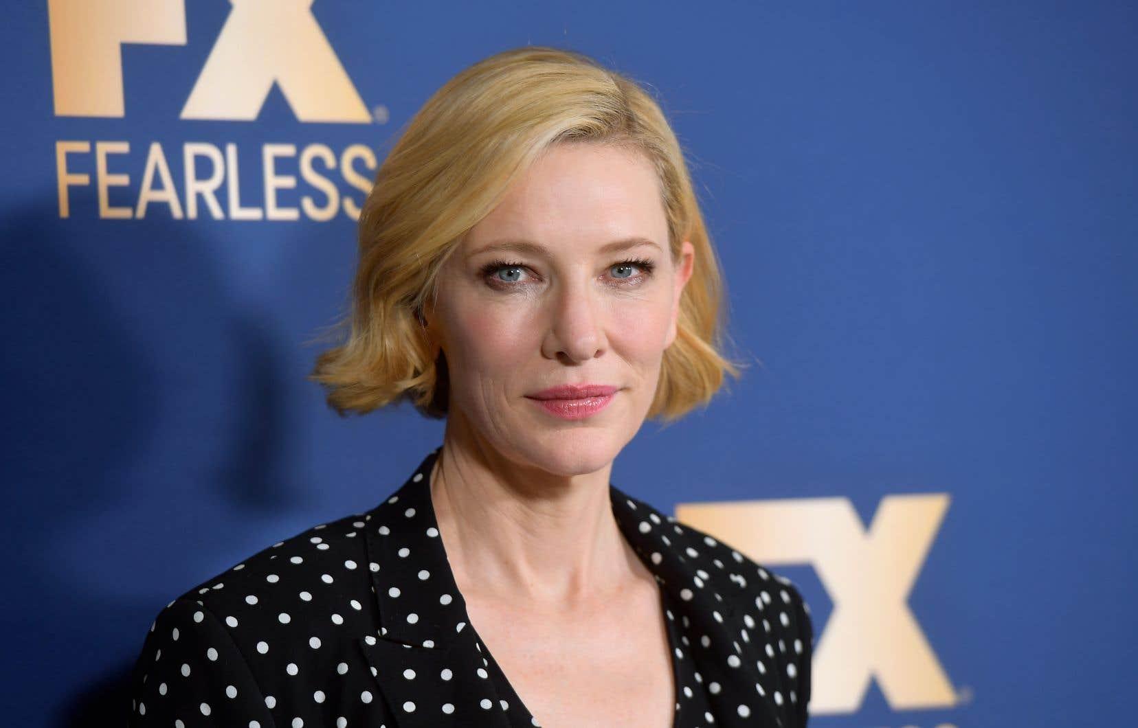<p>L'actrice et productrice Cate Blanchett, 50ans, présidera lejury.</p>
