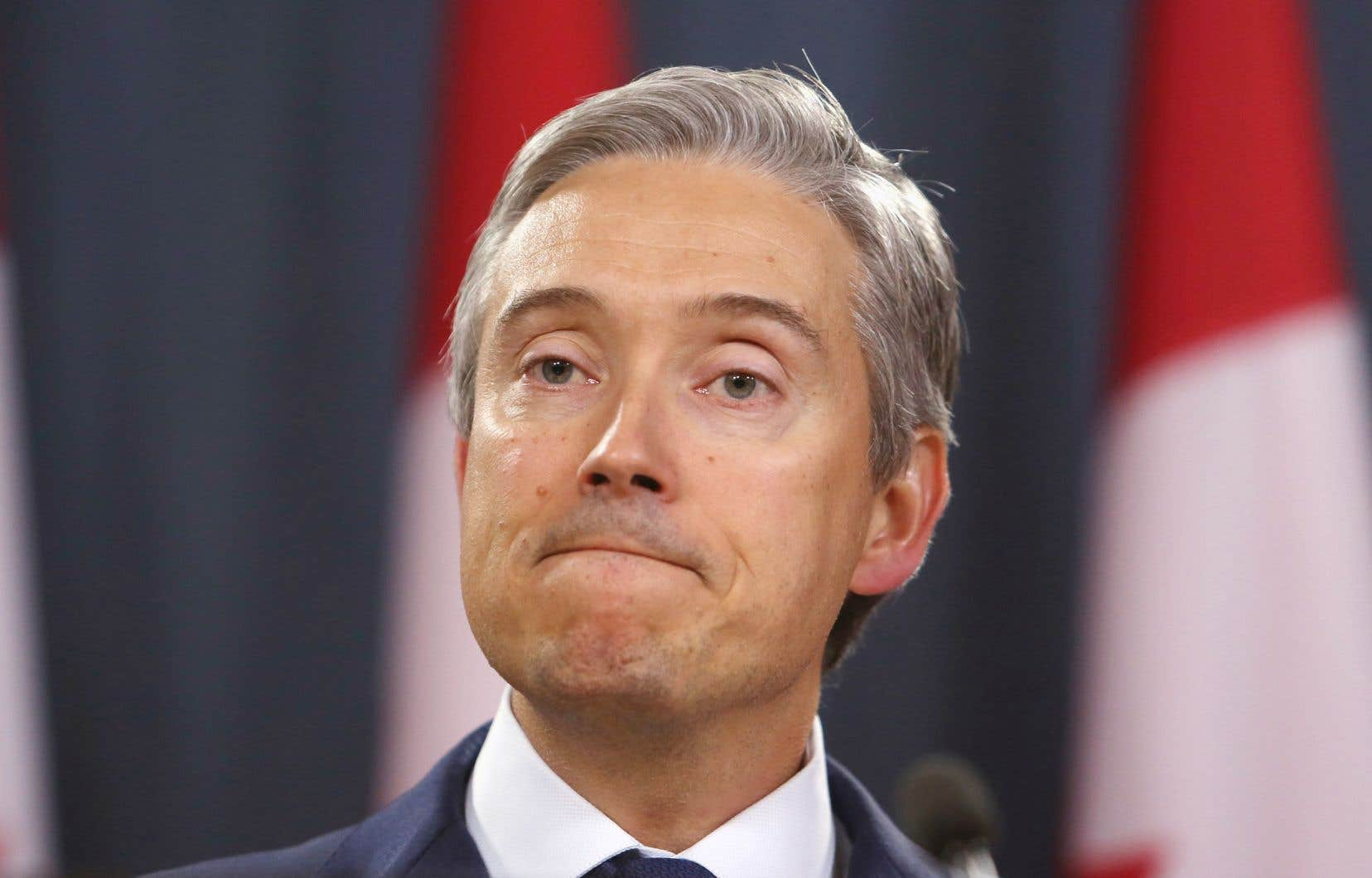 Le ministre des Affaires étrangères, François-Philippe Champagne