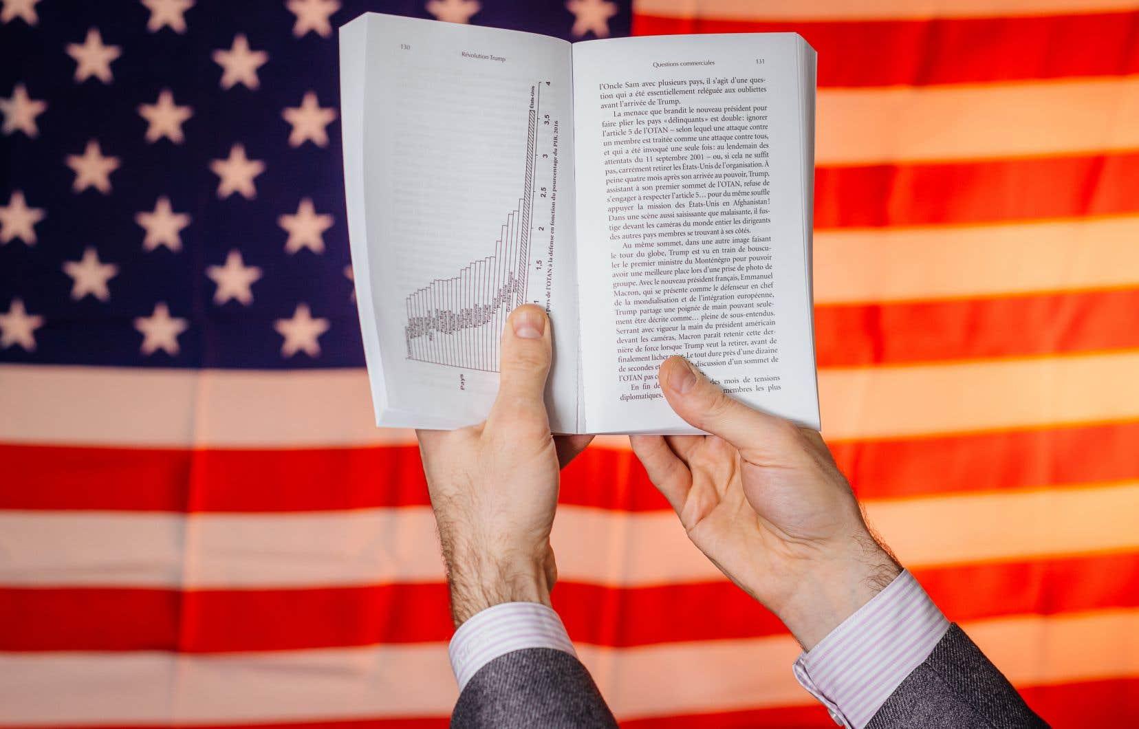 Dans «Révolution Trump», Rafael Jacob dépeint avec humour le personnage du président américain, Donald Trump.