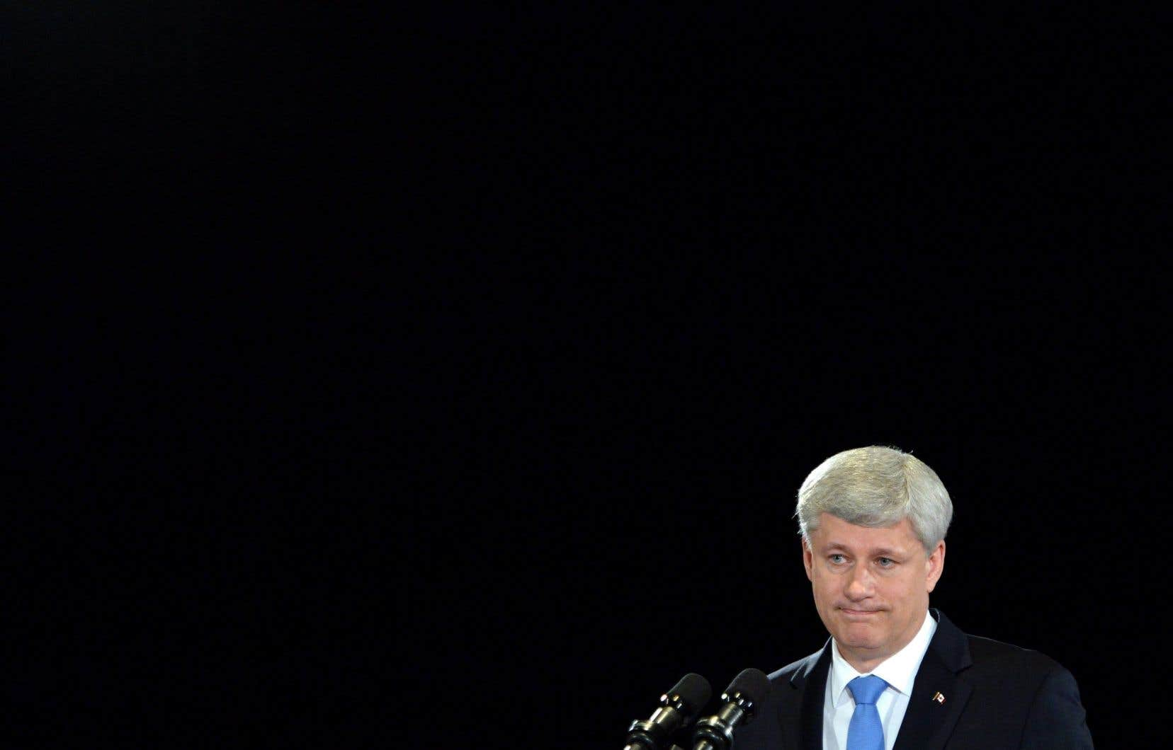 L'ancien premier ministre Stephen Harper