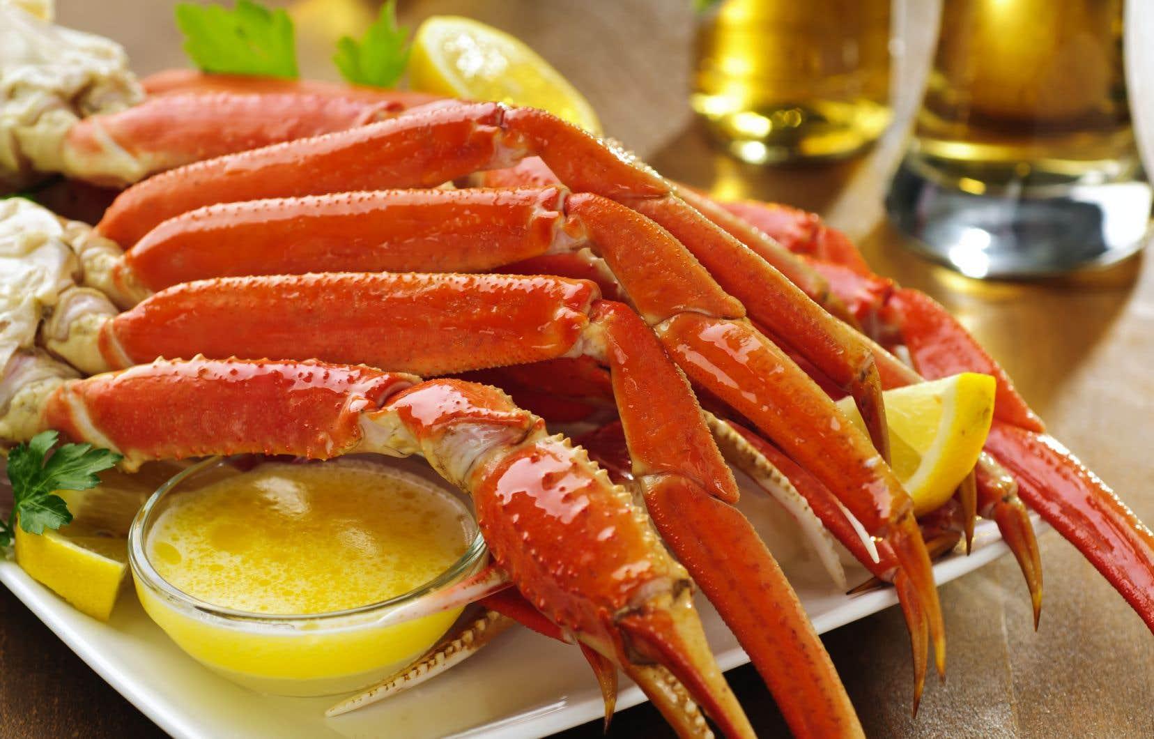 Pas moins de 90% des exportations de crabe des neiges se fait vers les États-Unis.