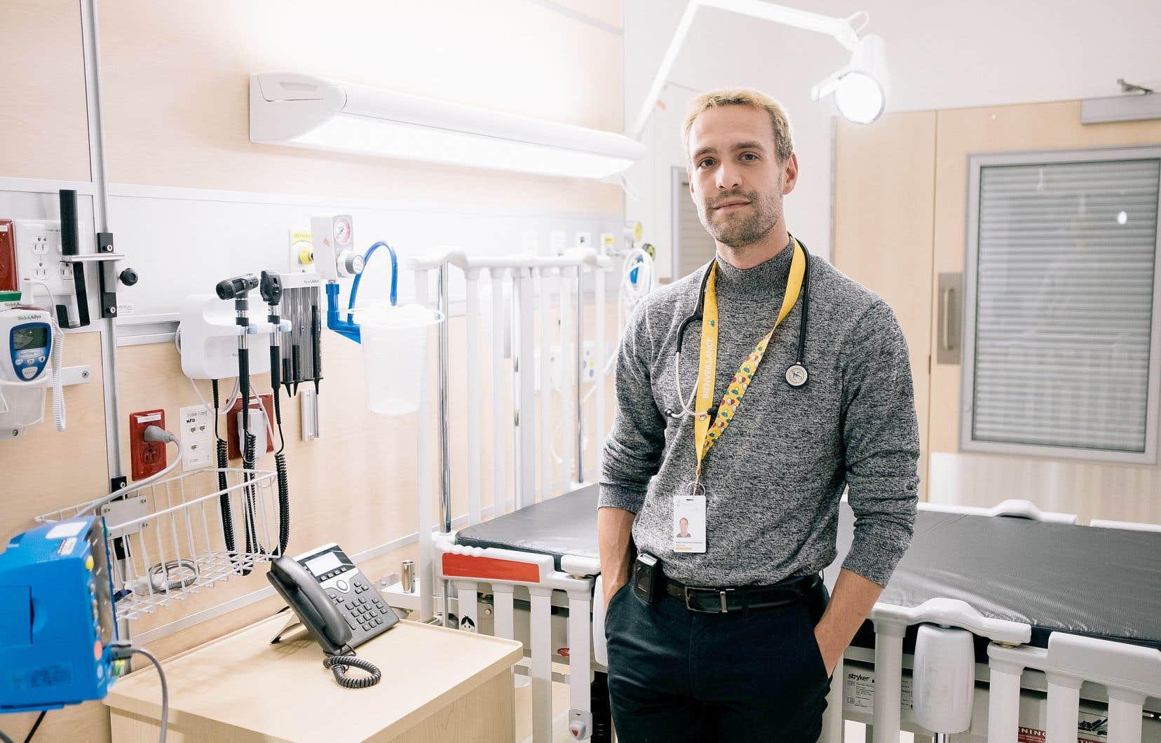Le pédiatre Marc-Antoine Marquis