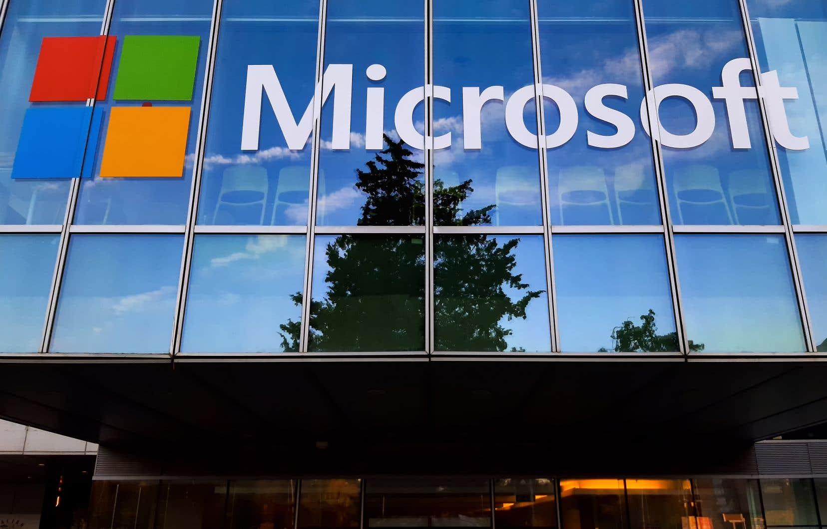 Cet engagement doit conduire à l'annulation en 2050 de tout le carbone émis par Microsoft depuis sa fondation en 1975, a assuré le géant informatique.