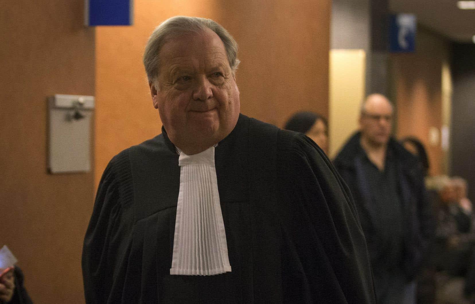 «Il n'est pas un suspect», a déclaré l'avocat Michel Massicotte à l'endroit de son client.