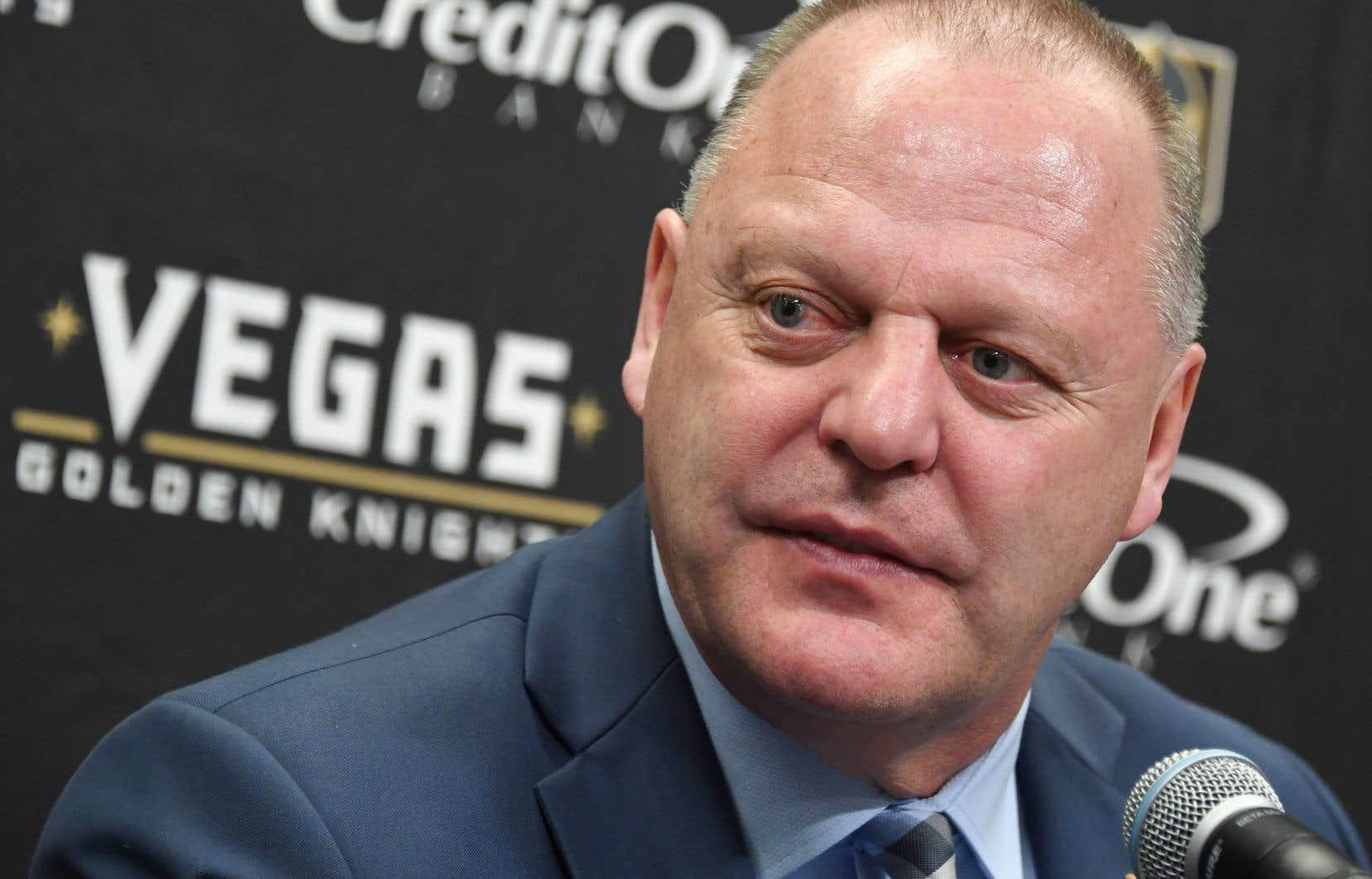 L'entraîneur-chef des Golden Knights, Gerard Gallant, était fort apprécié de ses joueurs.
