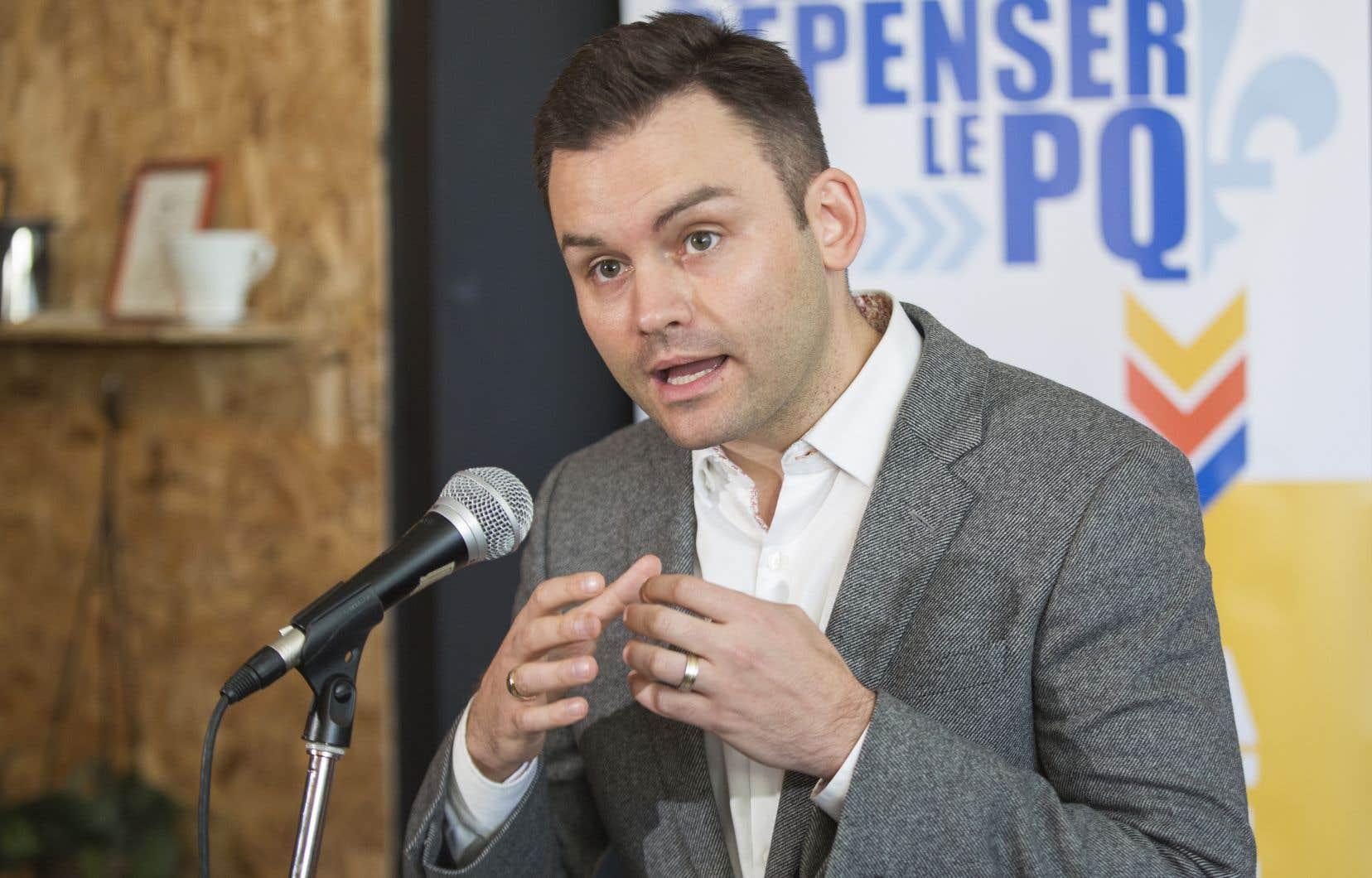 Paul St-Pierre Plamondon avait publié un rapport intitulé «Osez repenser le PQ» en février 2017.