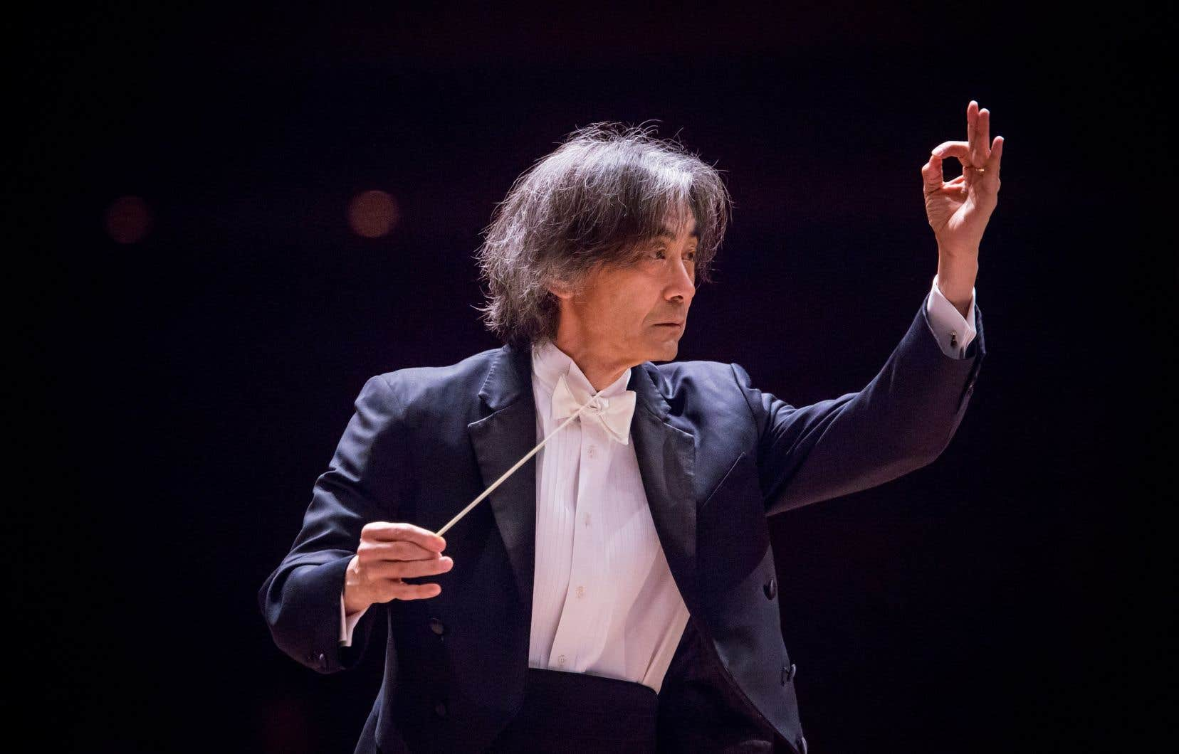 Le chef d'orchestre Kent Nagano