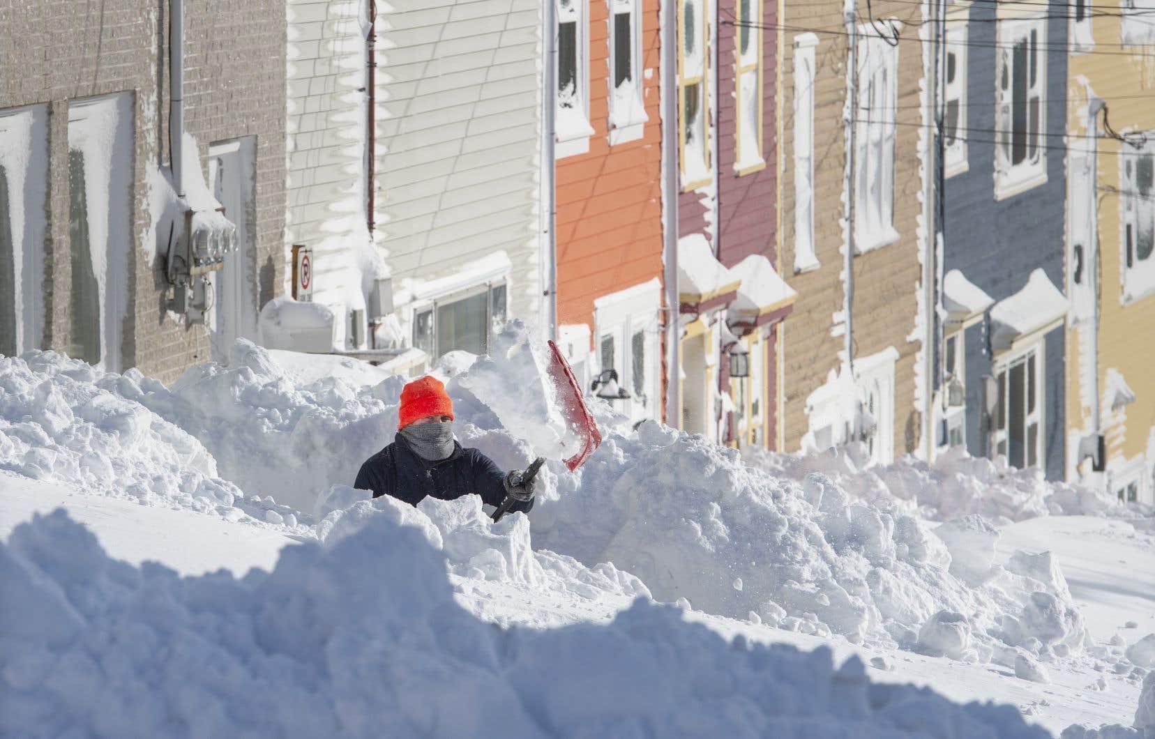 Les précipitations ont dépassé les 70 centimètres de neige dans certains secteurs.