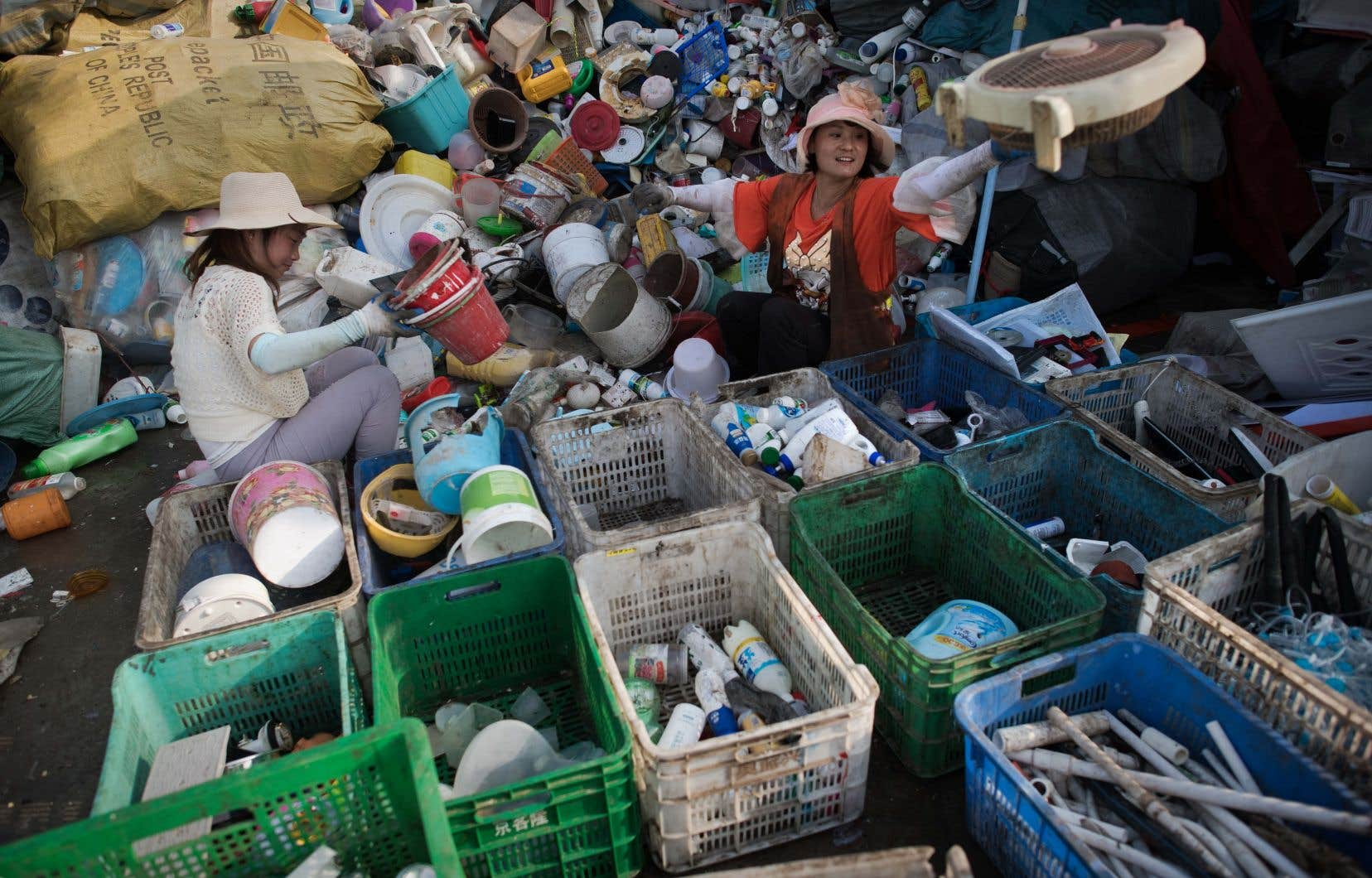 La Chinea produit en 2017 pas moins de 210millions de tonnes de déchets.