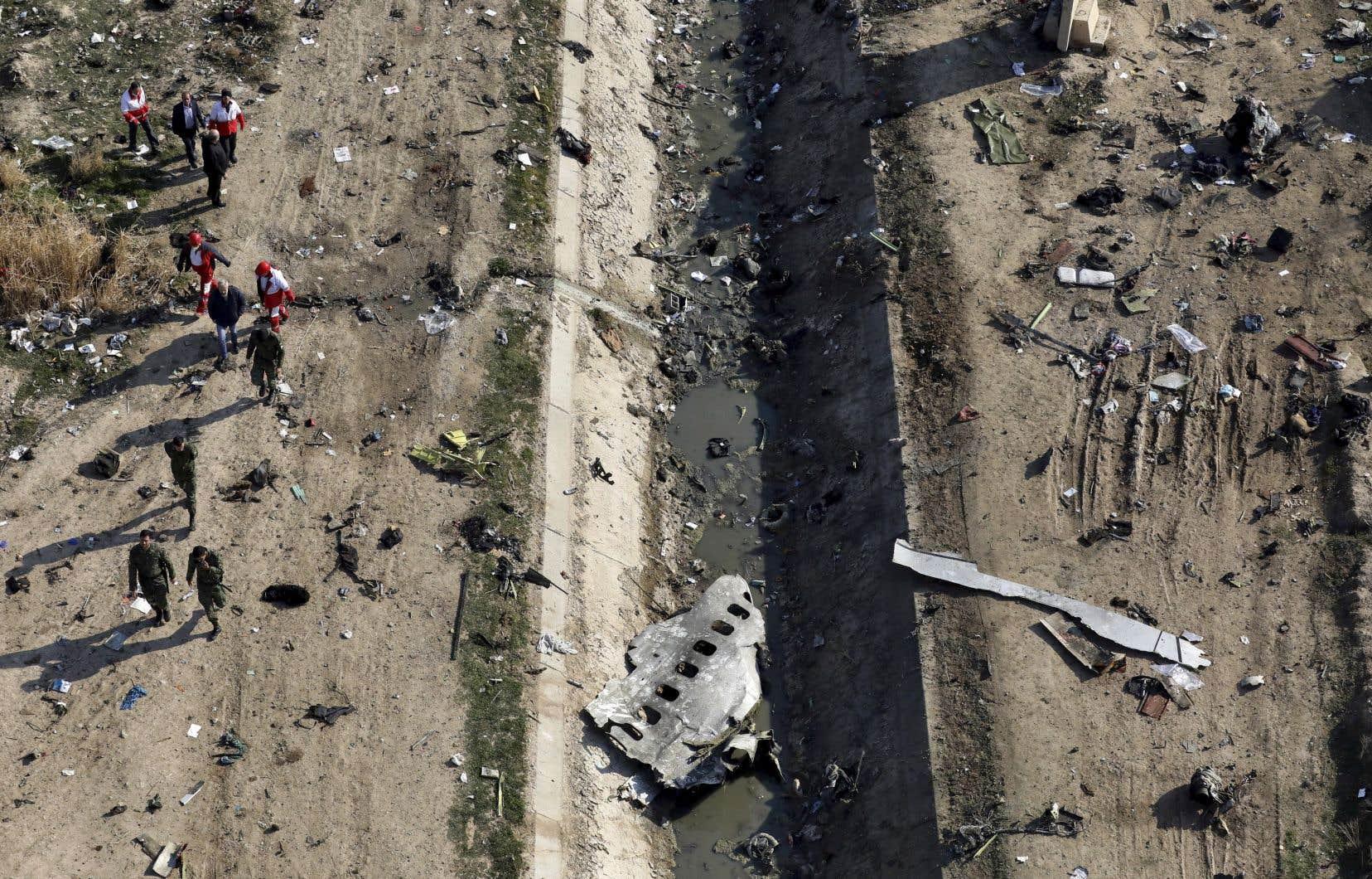 <p>L'avion de passagers s'est écrasé le 8 janvier dernier, tuant les 176 personnes à bord.</p>