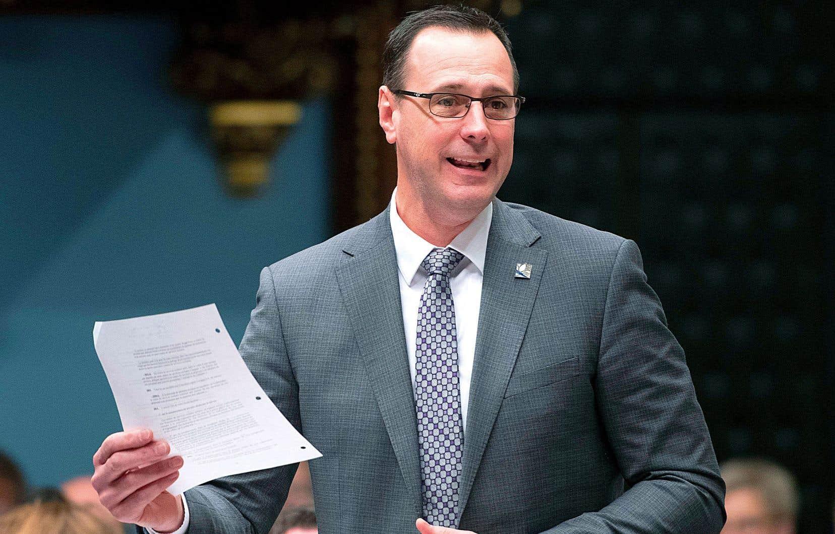 Le ministre Jean-François Roberge (photo) a annoncé la semaine dernière que les parents siégeant au conseil d'administration des futurs centres de services scolaires seront élus.